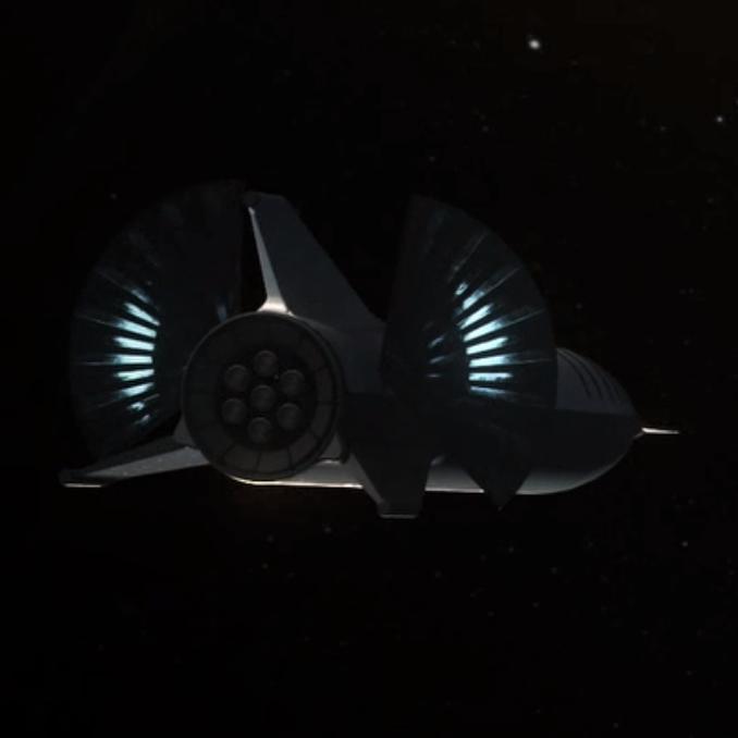BFR 2018 solar arrays (SpaceX) 3