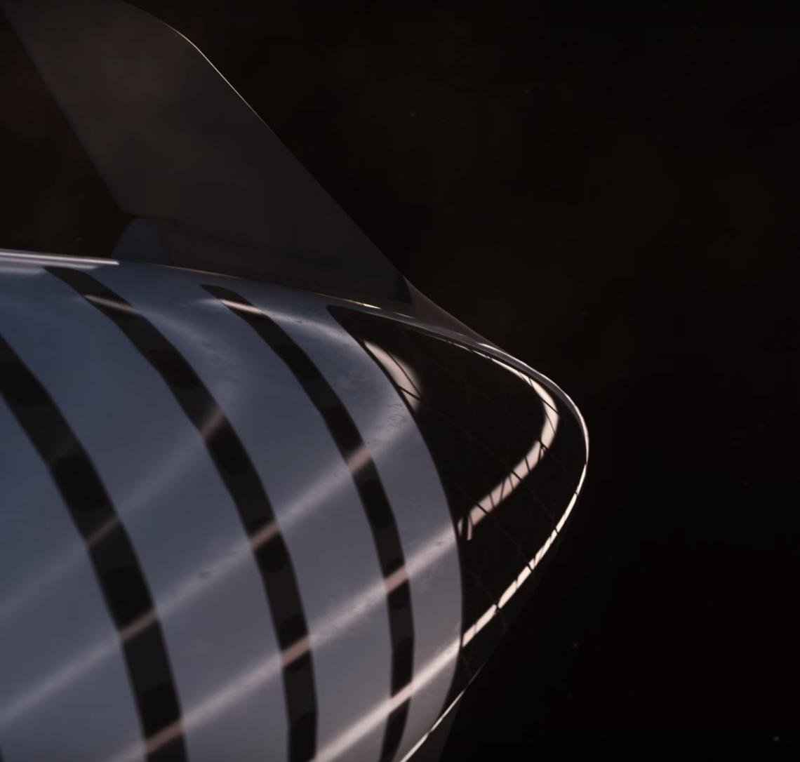 BFR 2018 spaceship nose (SpaceX) 2(c)