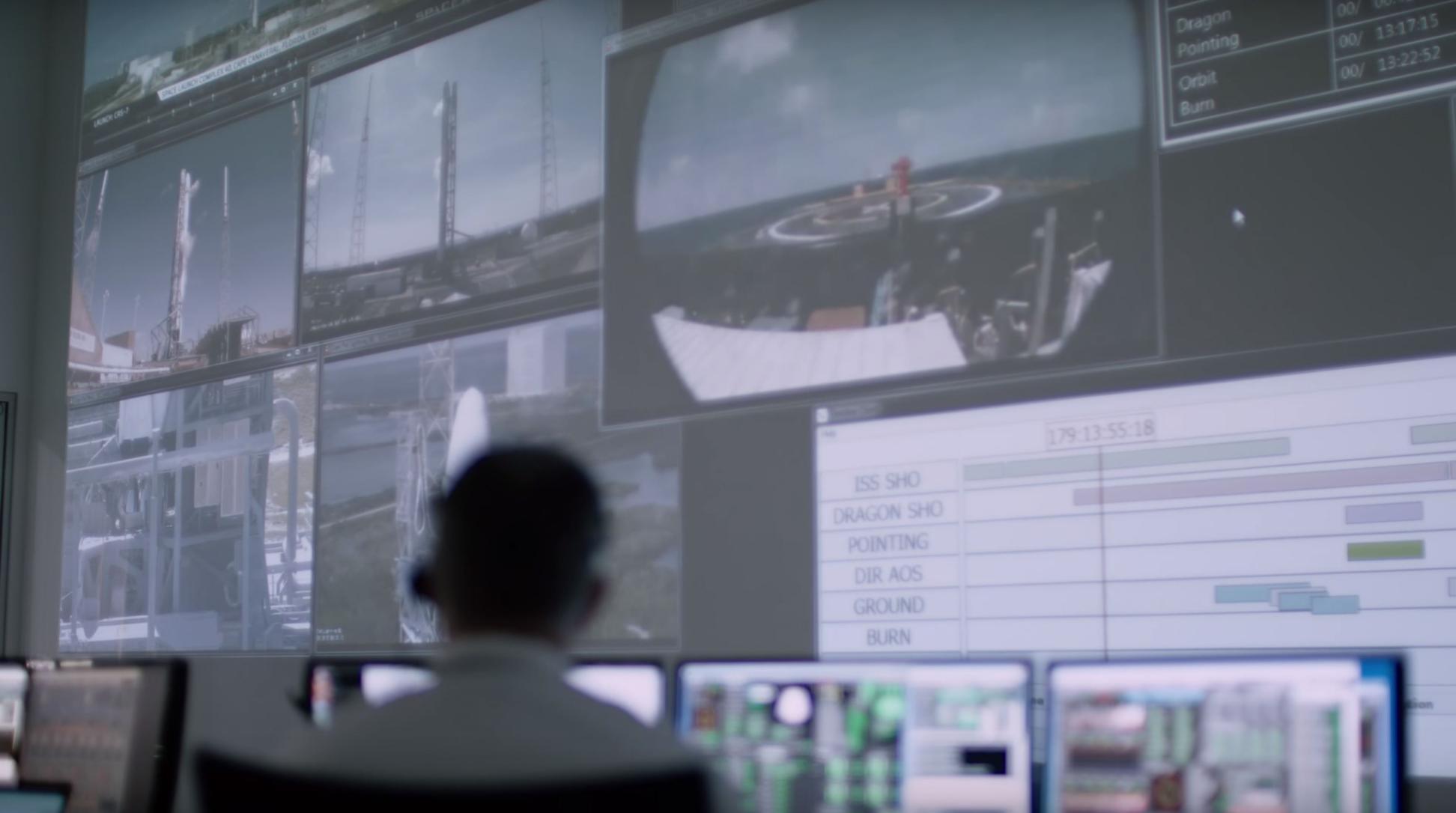 CRS-7 mission control(c)