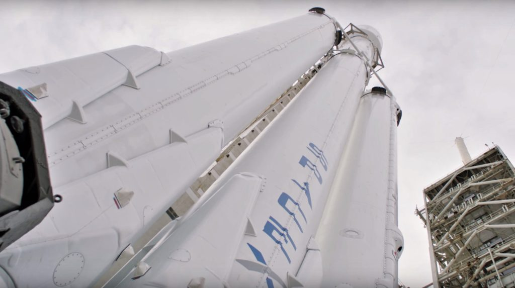 SpaceX customer reaffirms third Falcon Heavy mission's Q2 ...