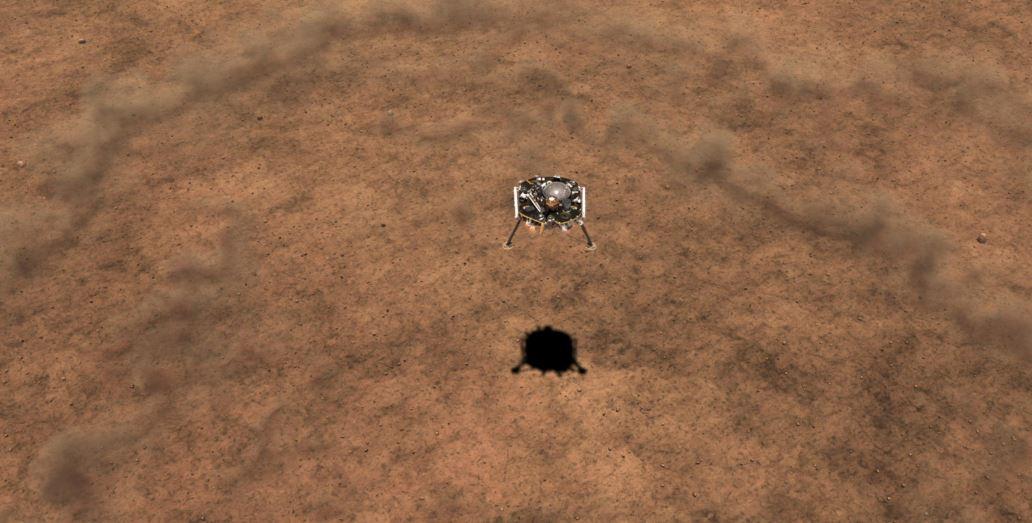 InSight landing.