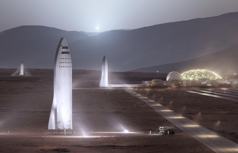 Mars Base and BFS(c)