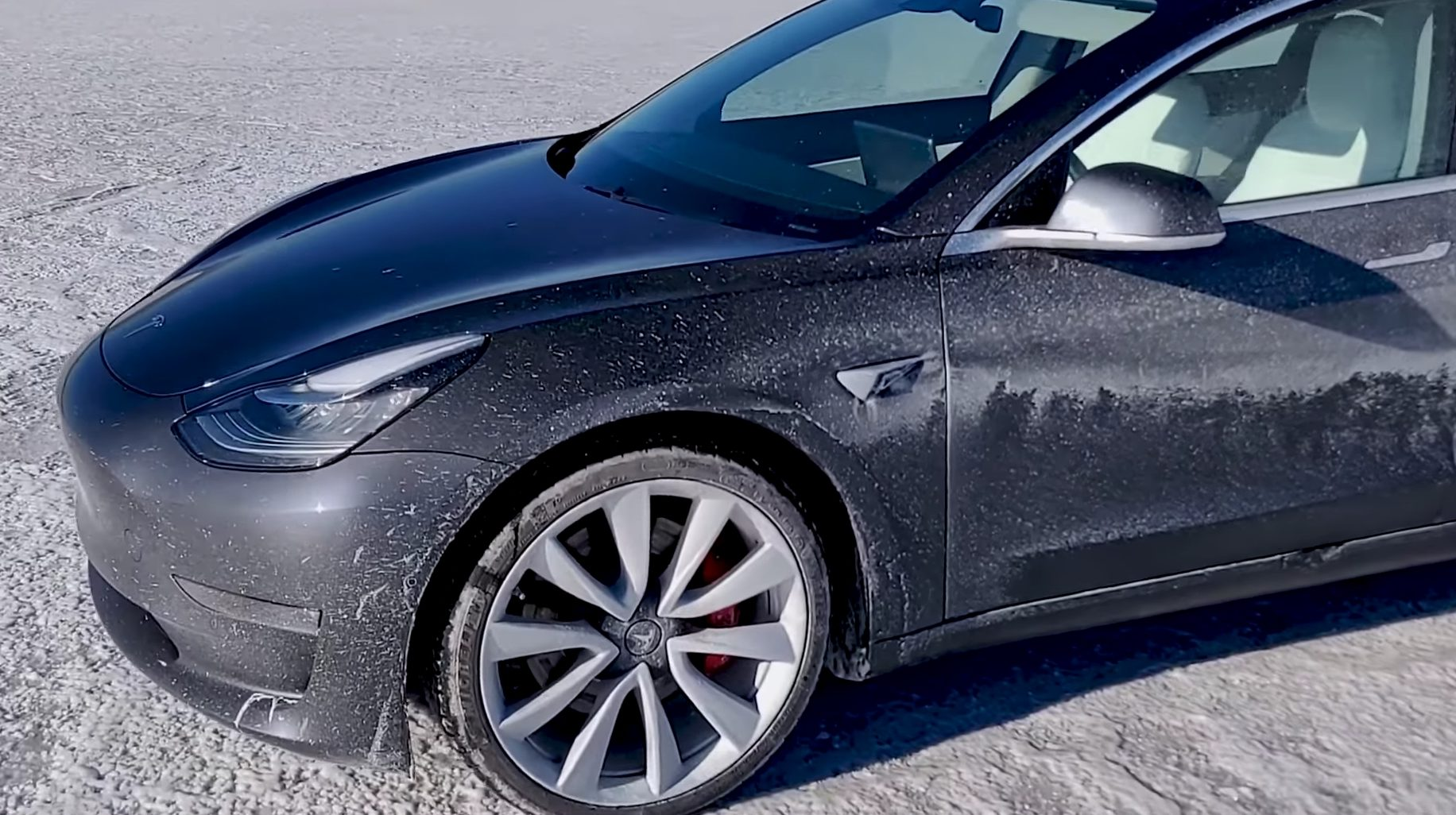 Tesla Model 3 Performance Spins Out At 135 Mph During Top Sd Attempt