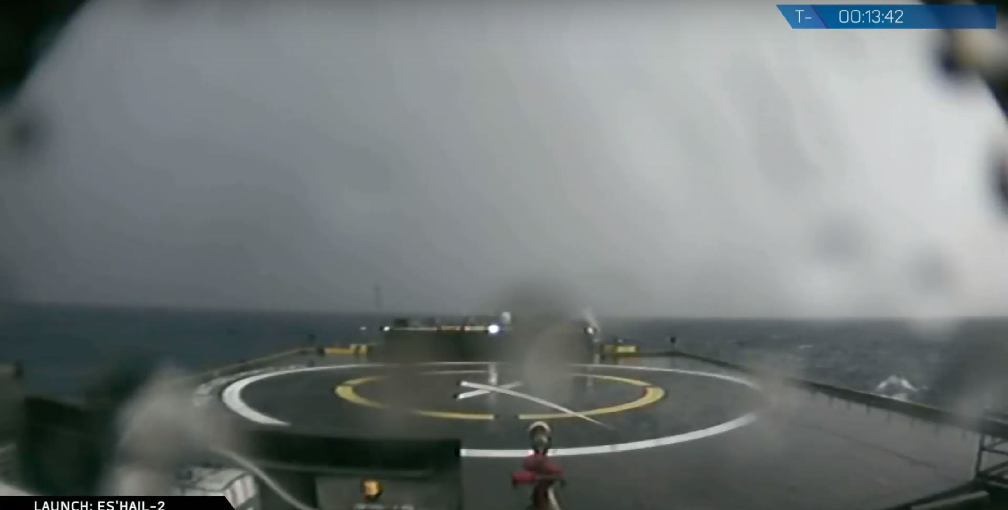 OCISLY stormy seas (spaceX)