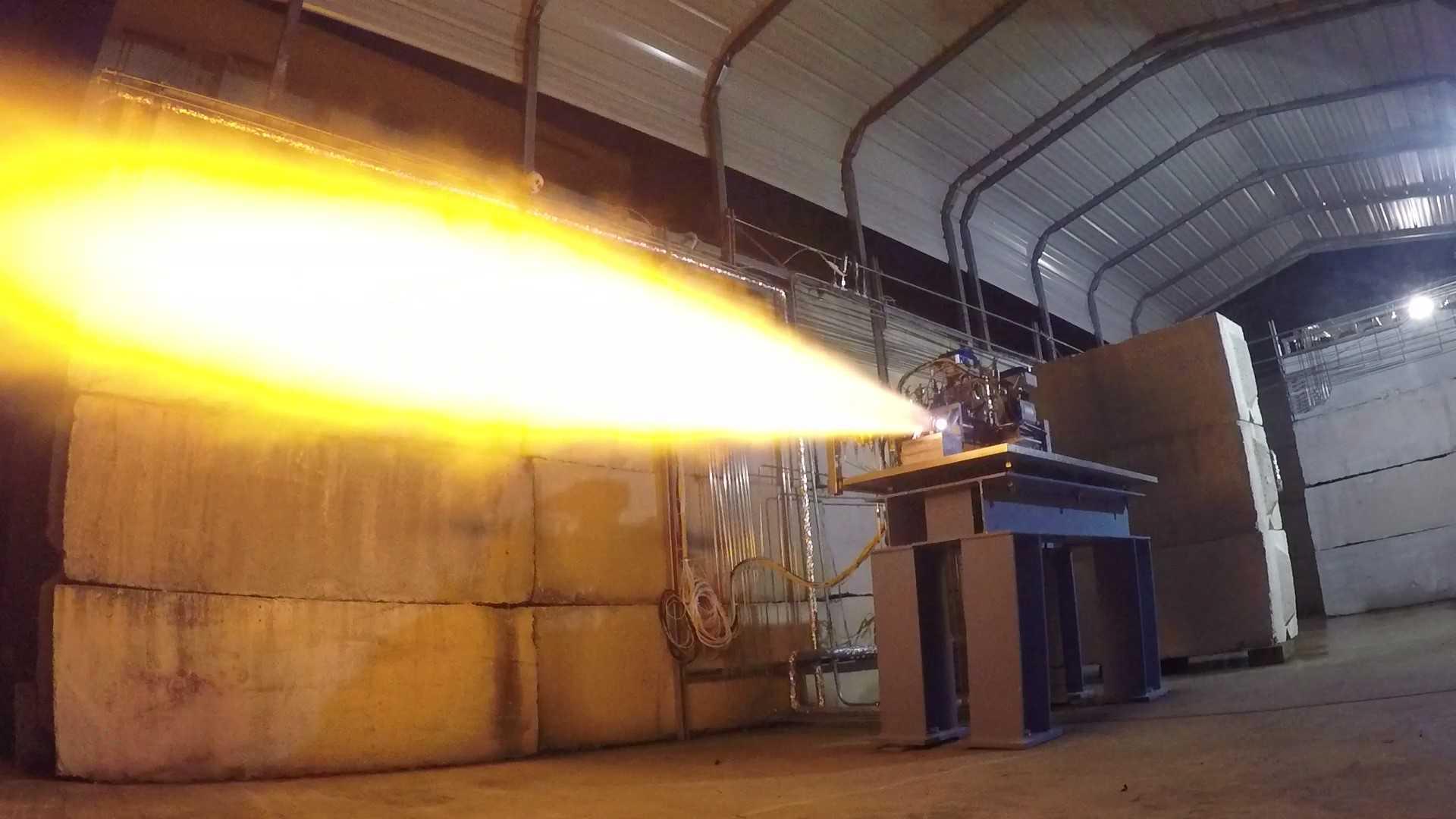PGA subscale preburner testing (Stratolaunch)(c)