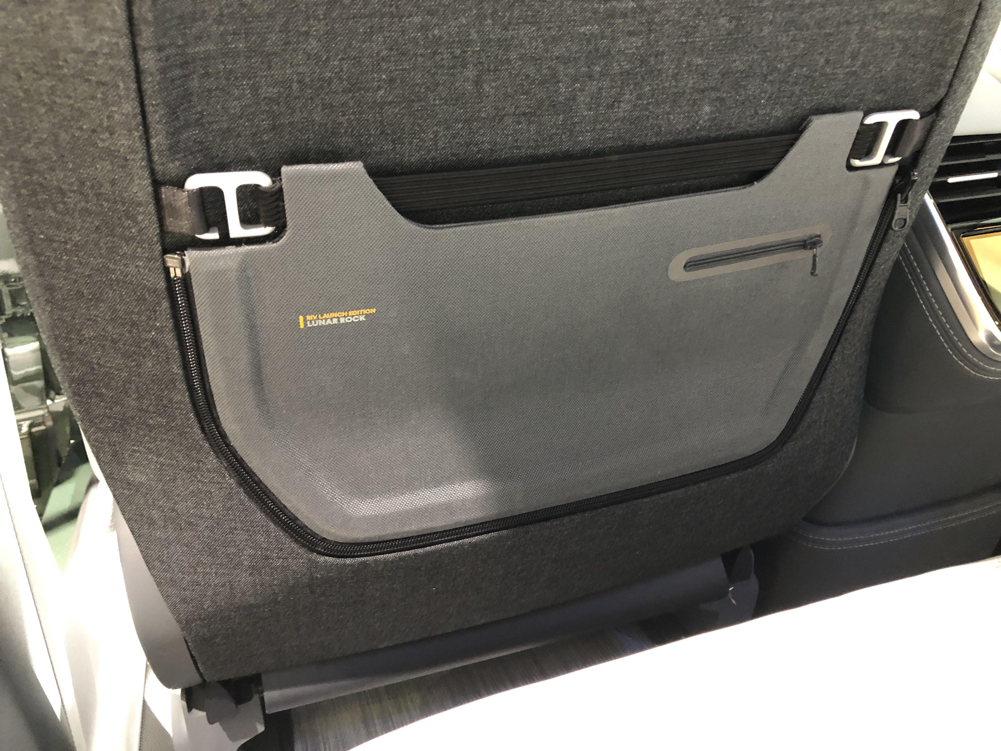 Rivian Rear Backseat Pocket Pouch