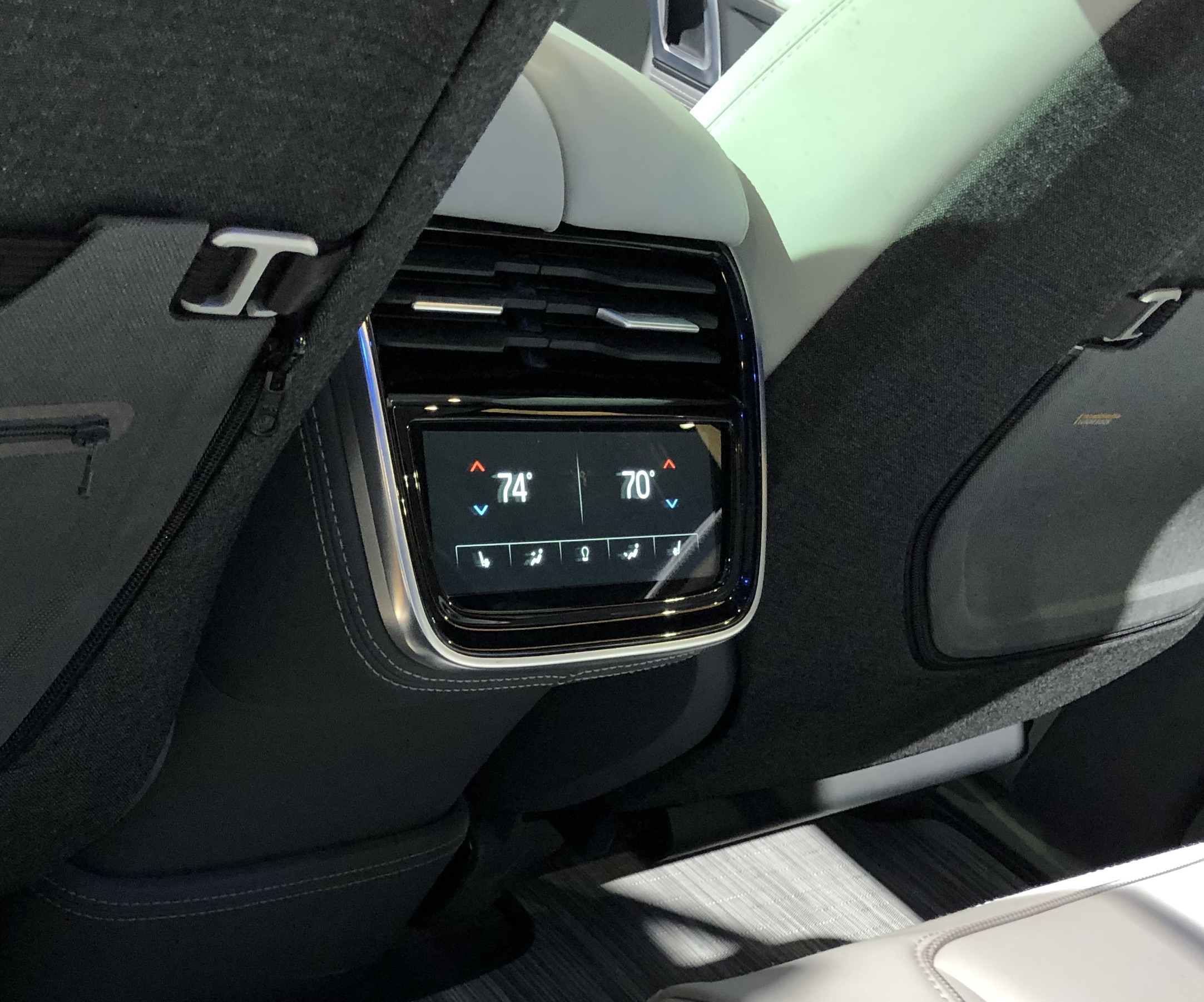 Rivian Rear Touch Screen
