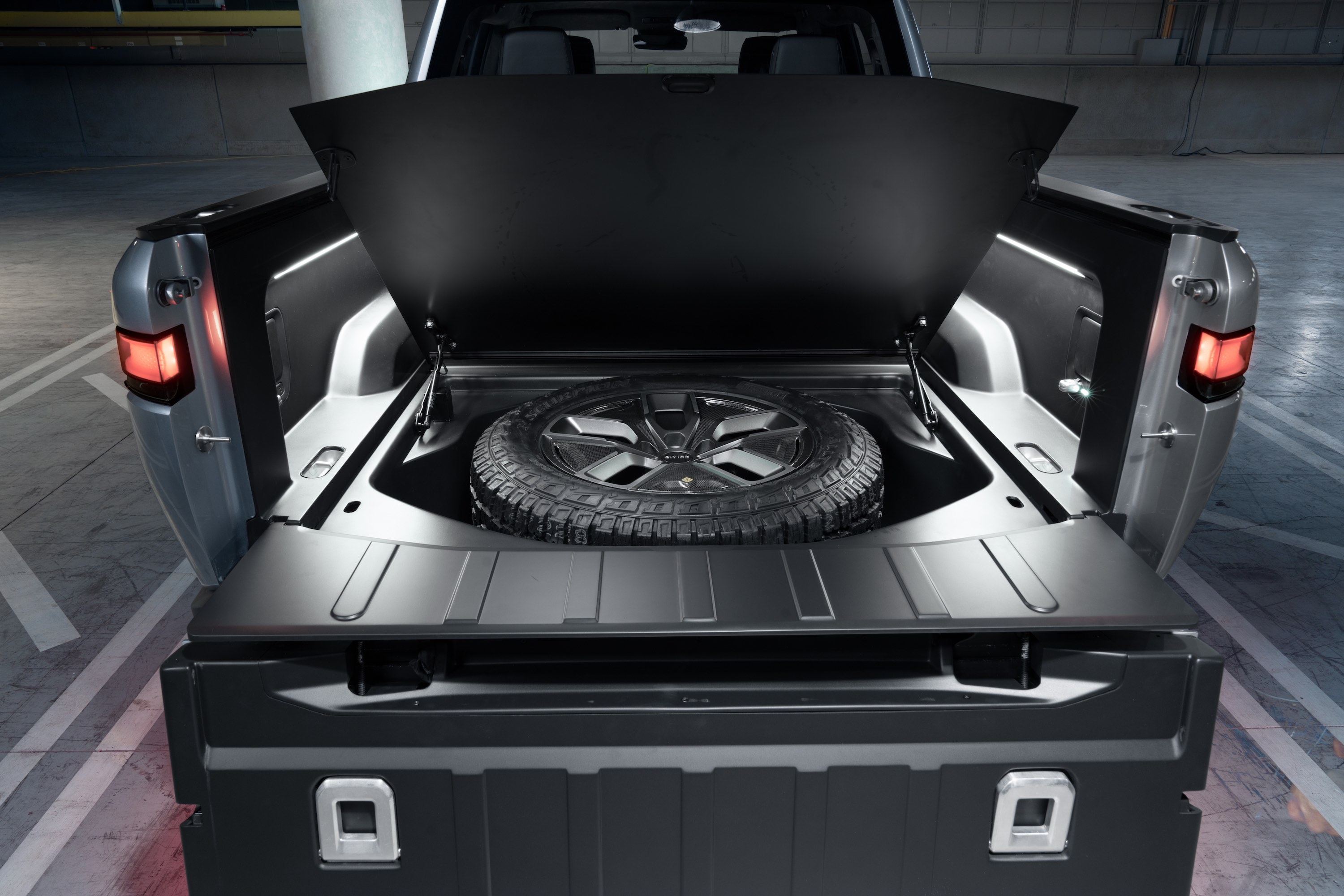 Rivian Spare Tire Compartment RT1