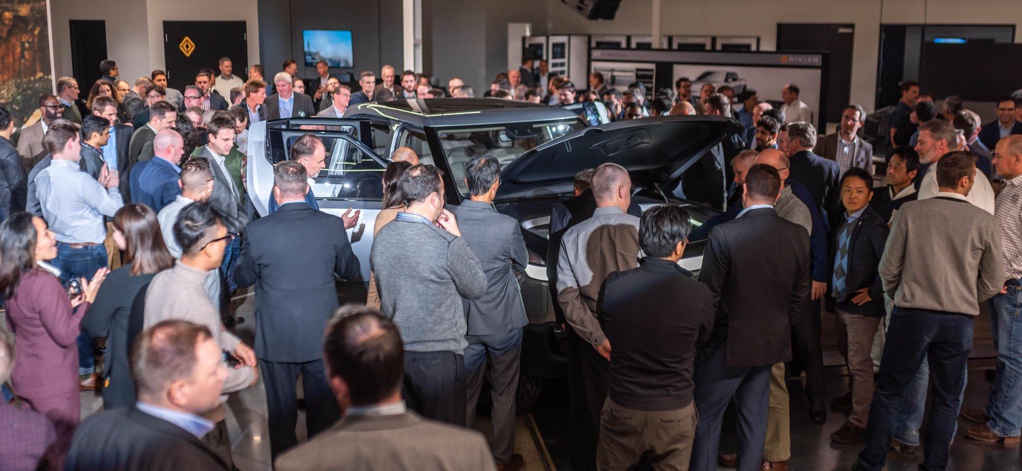 Rivian Unveil RT1 Suppliers Teslarati Electric Truck