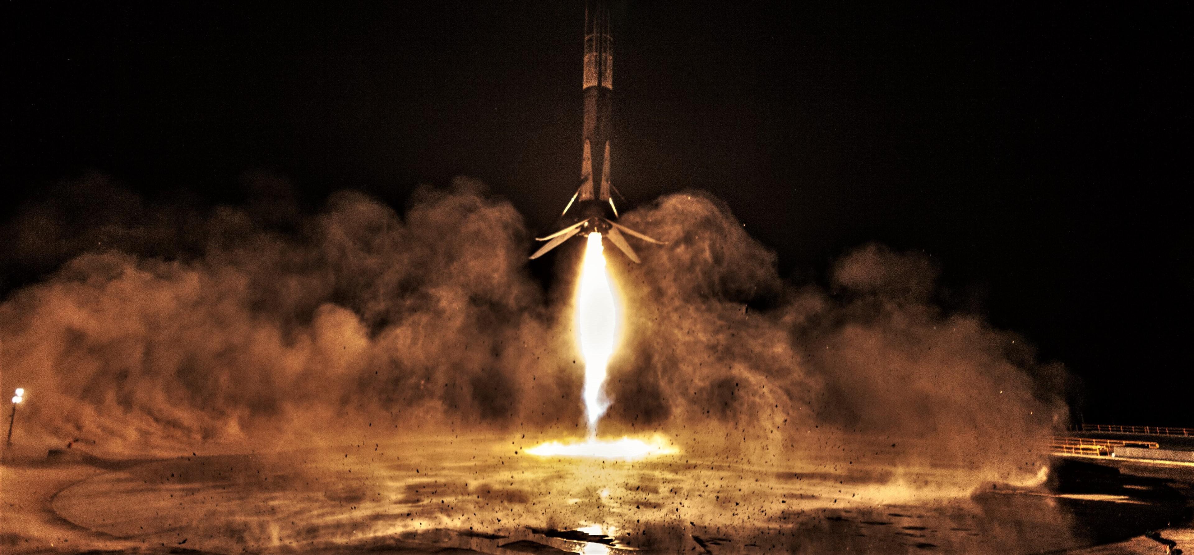 SAOCOM 1A B1048 landing (SpaceX) 3