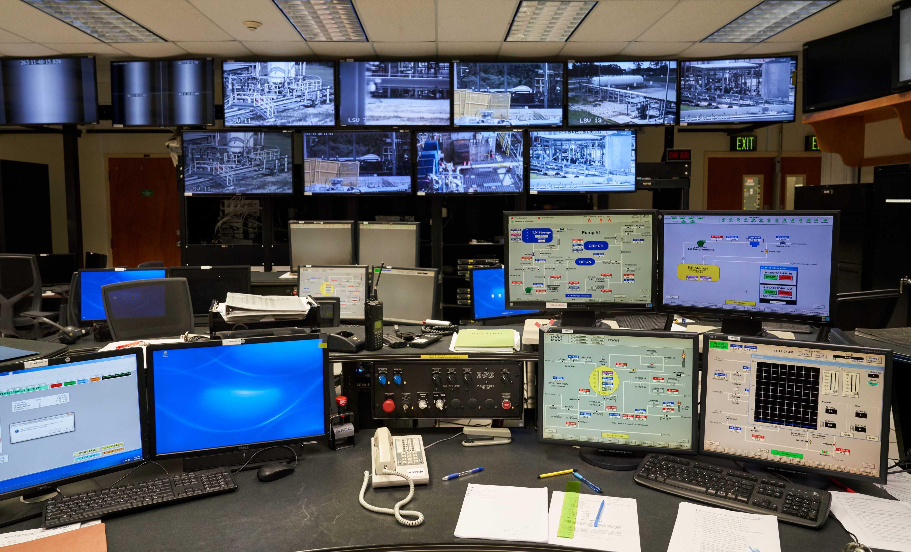 Test Control Room(c)