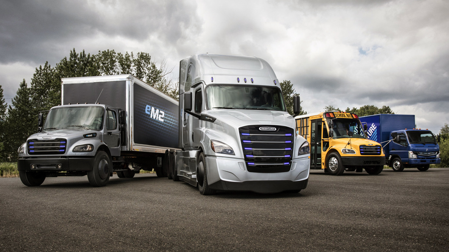Daimler Trucks Commercial Electric Vehicles