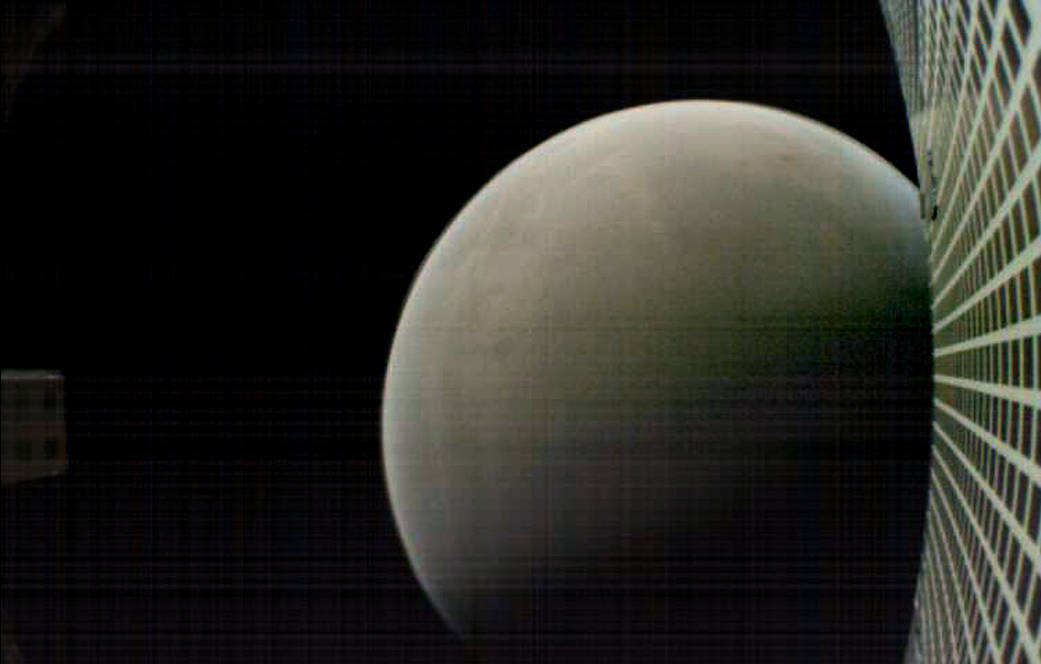 MarCO image of Mars.