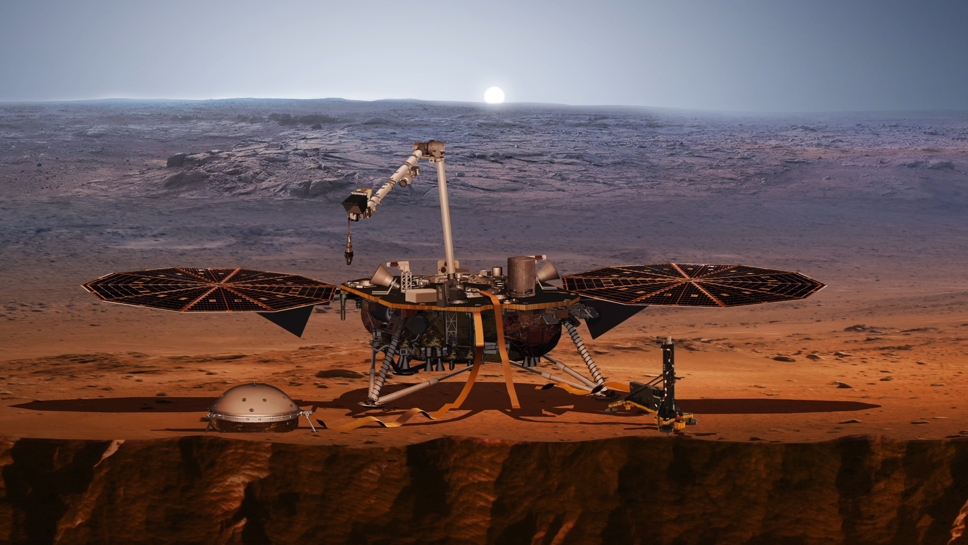 mars rover insight live - photo #35