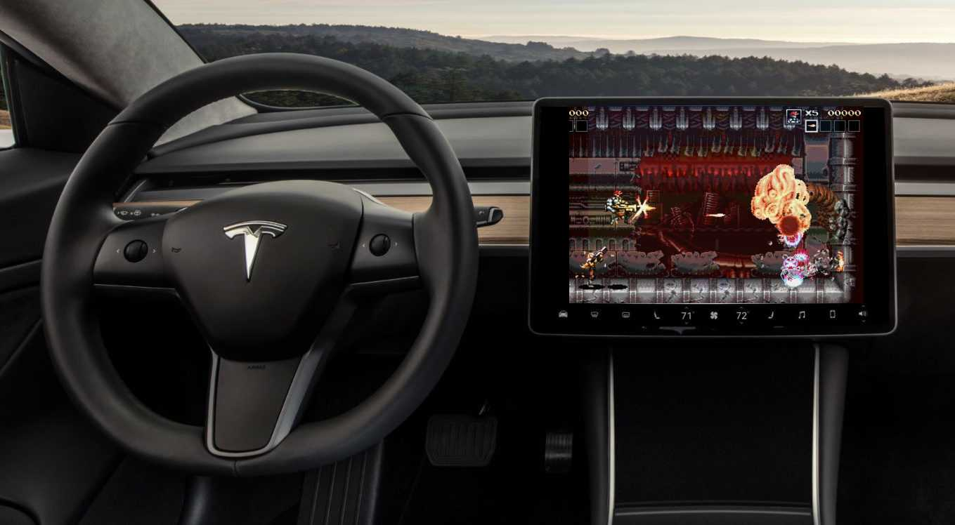 Tesla S Elon Musk Considers In Car Video Game Based On Ai Apocalypse
