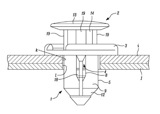 tesla patent addresses panel gaps using clever clamping