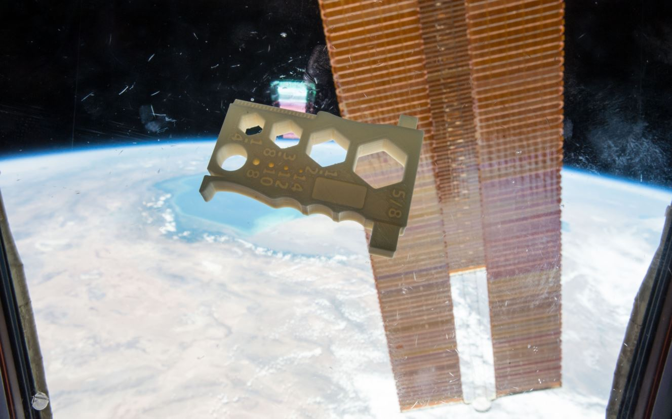 First living tissue 3D printed in space aboard International