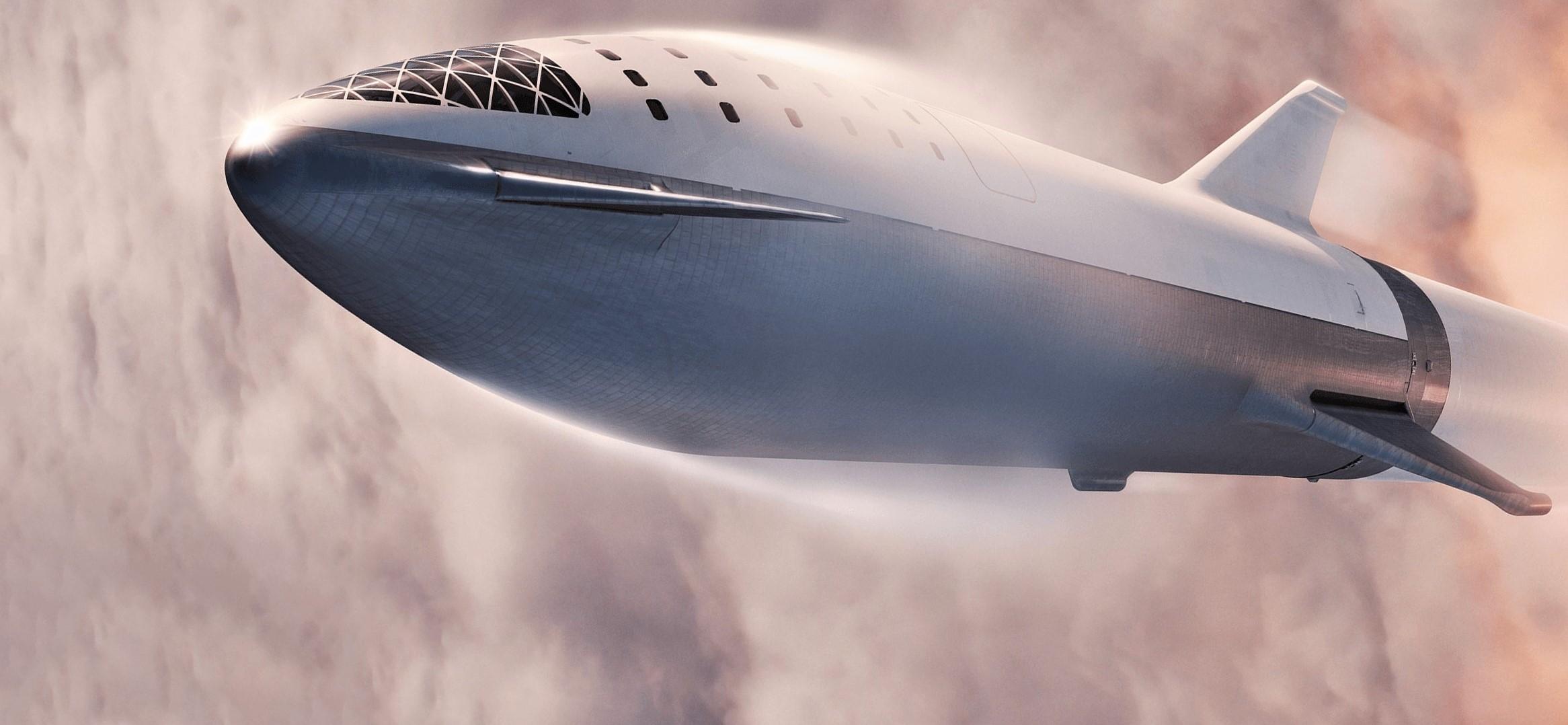 BFR 2018 launch (SpaceX) 1 crop ship