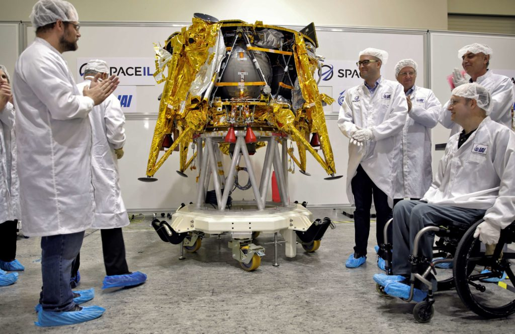 The next major milestone for Beresheet will be its arrival at SpaceX's Florida launch site, where it can be attached to PSN-6. (SpaceIL)
