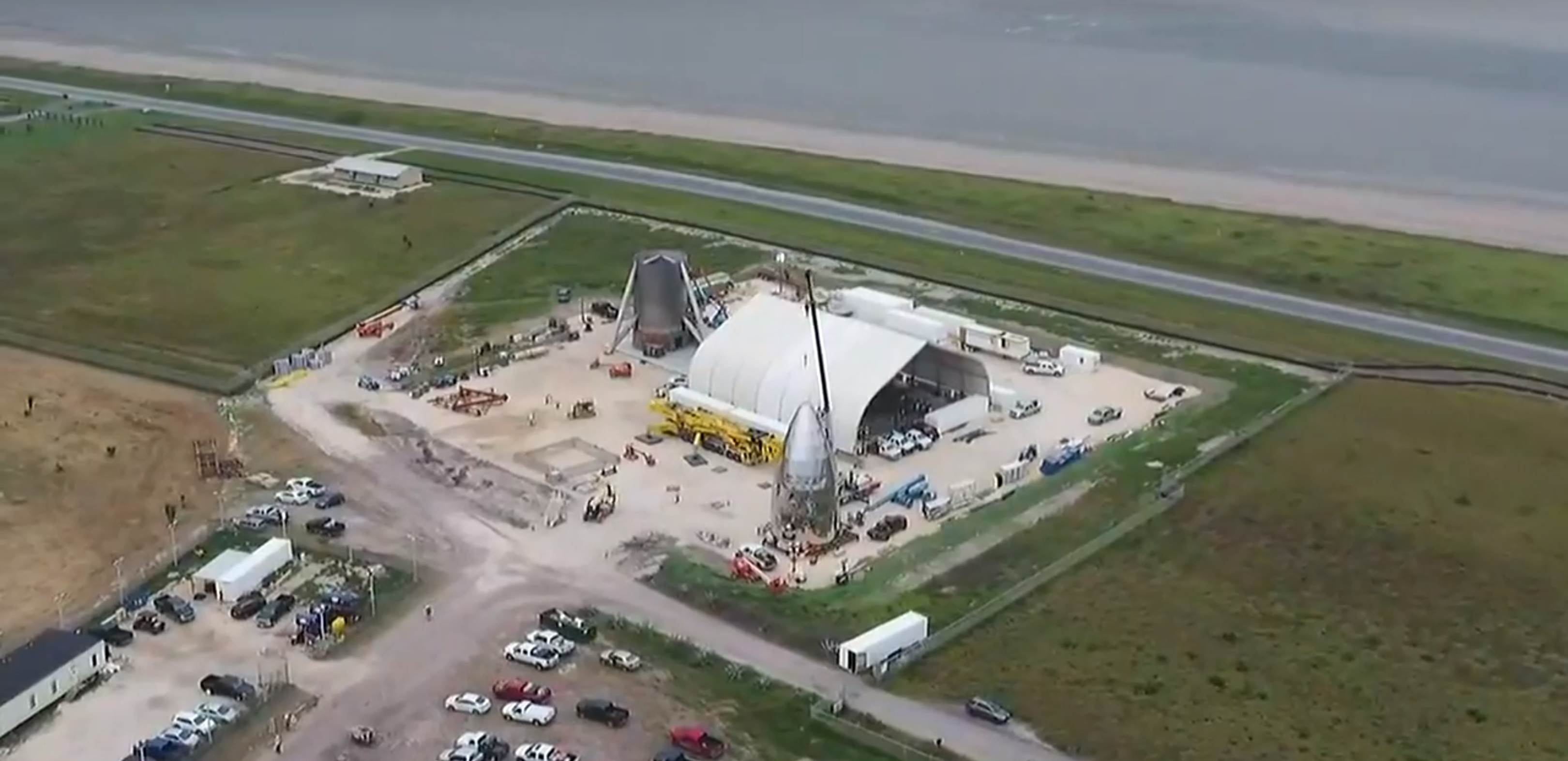 Boca Chica Starhopper progress overview 122818 (CBS4RGV) 11