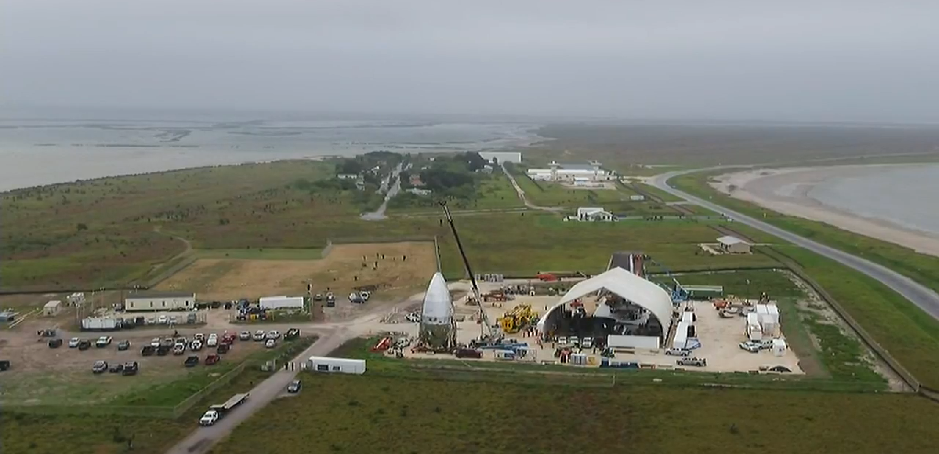 Boca Chica Starhopper progress overview 122818 (CBS4RGV) 7