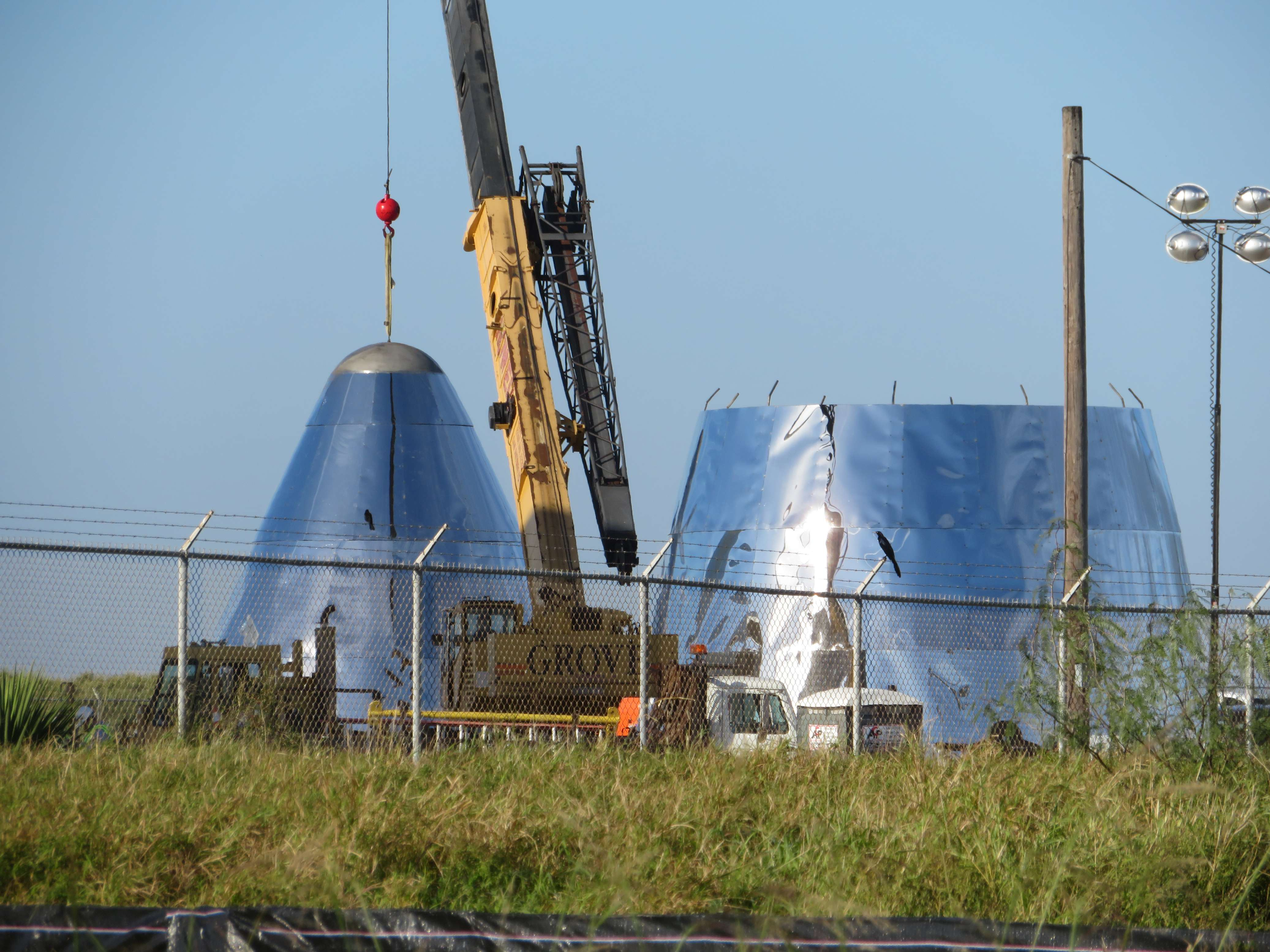 Boca Chica Starship Alpha progress 122318 (Maria Pointer – bocachicagal) 2(c)