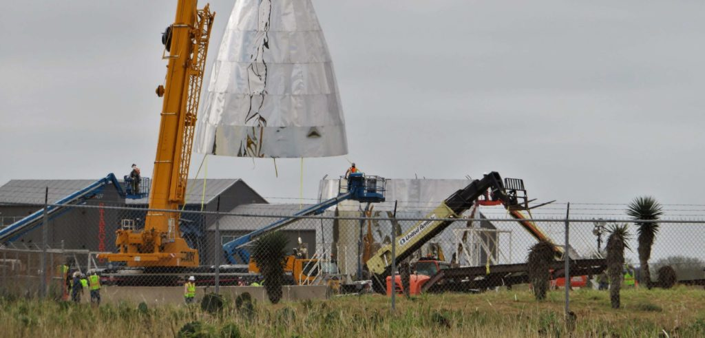 Spacex S Starship Prototype Proceeds At Breakneck Pace