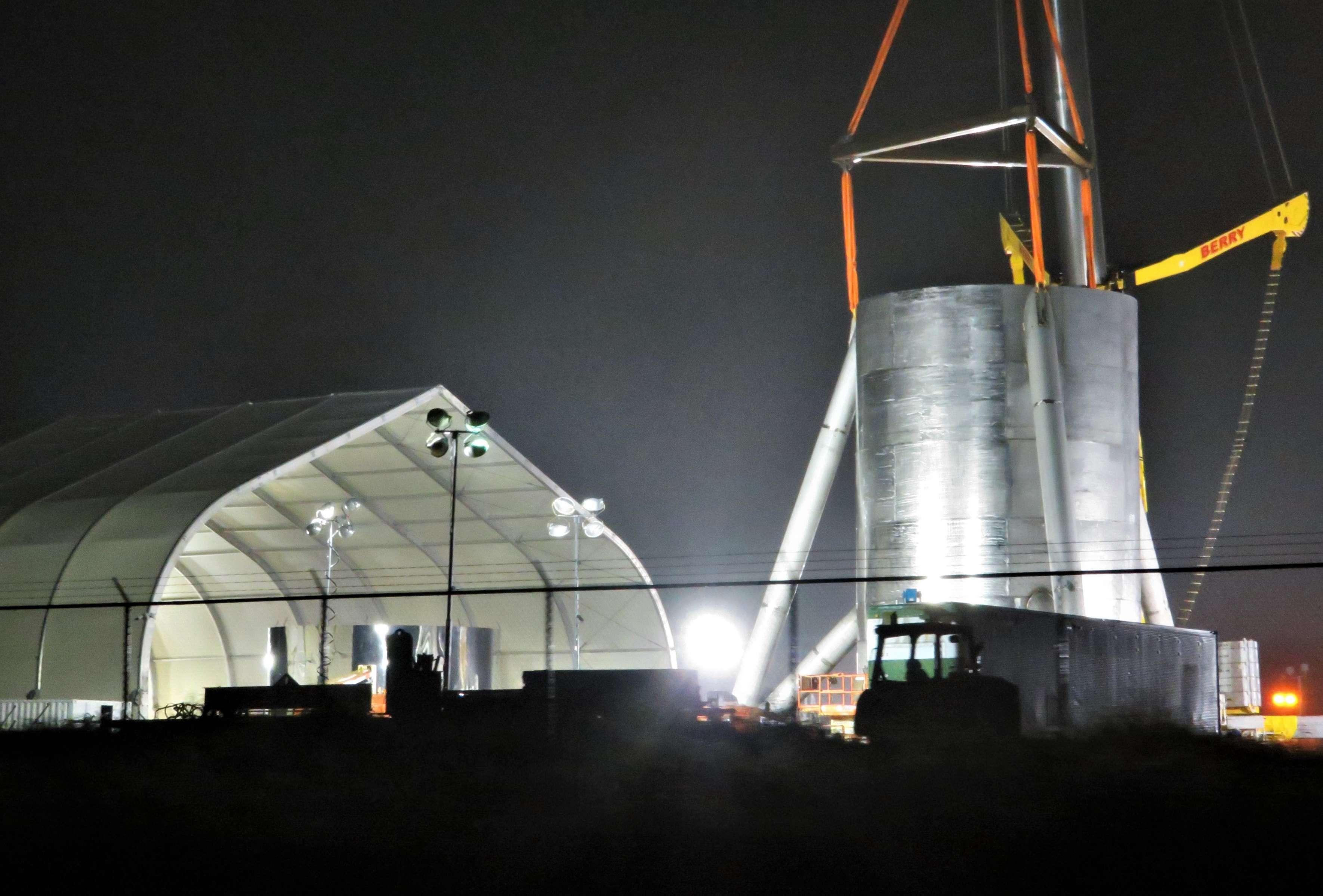 Boca Chica Starship progress 123018 (NSF – bocachicagal) 4(c)