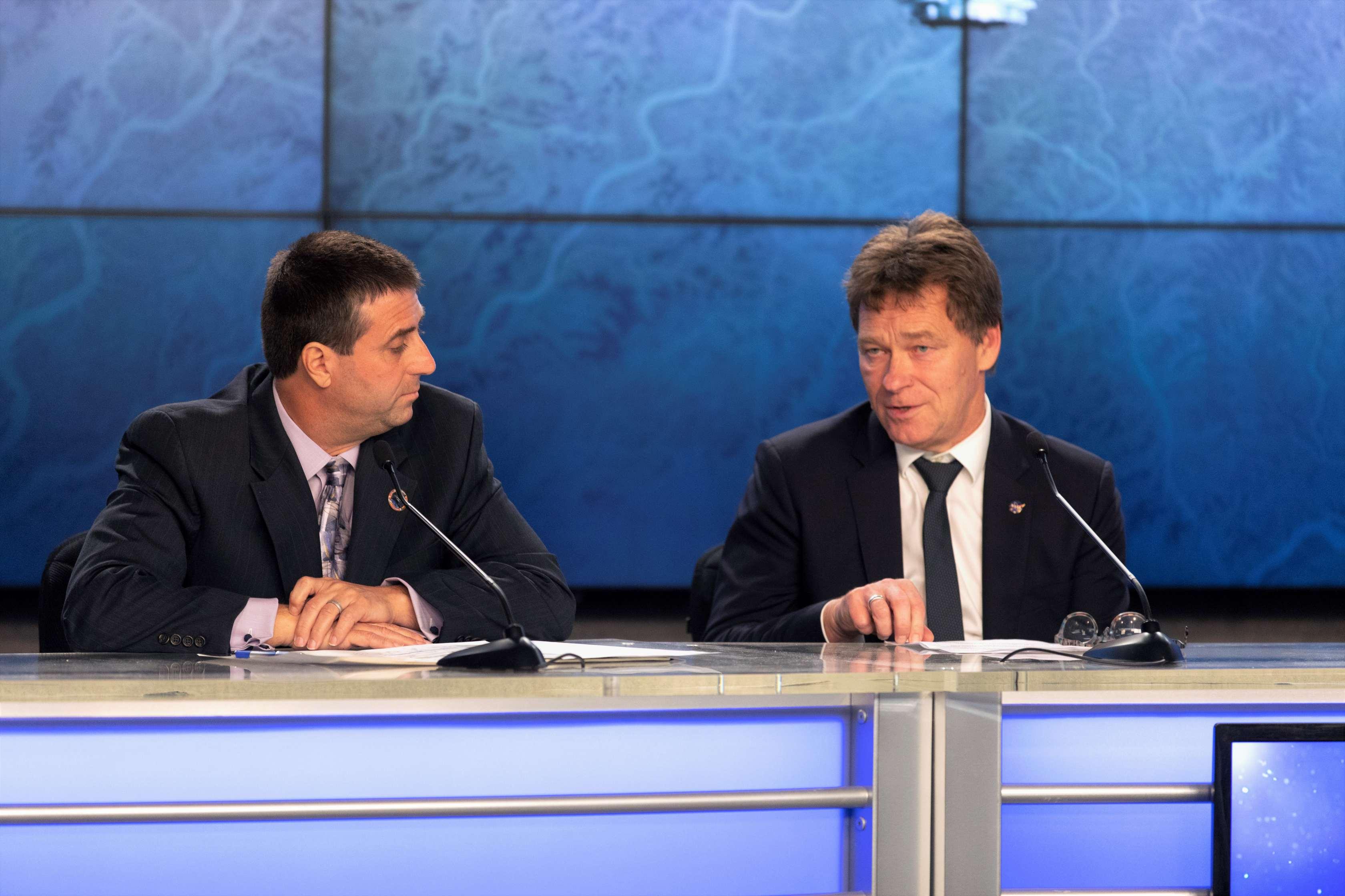 CRS-16 pre-launch conference Joel Montalbano & Hans Koenigsmann (NASA)