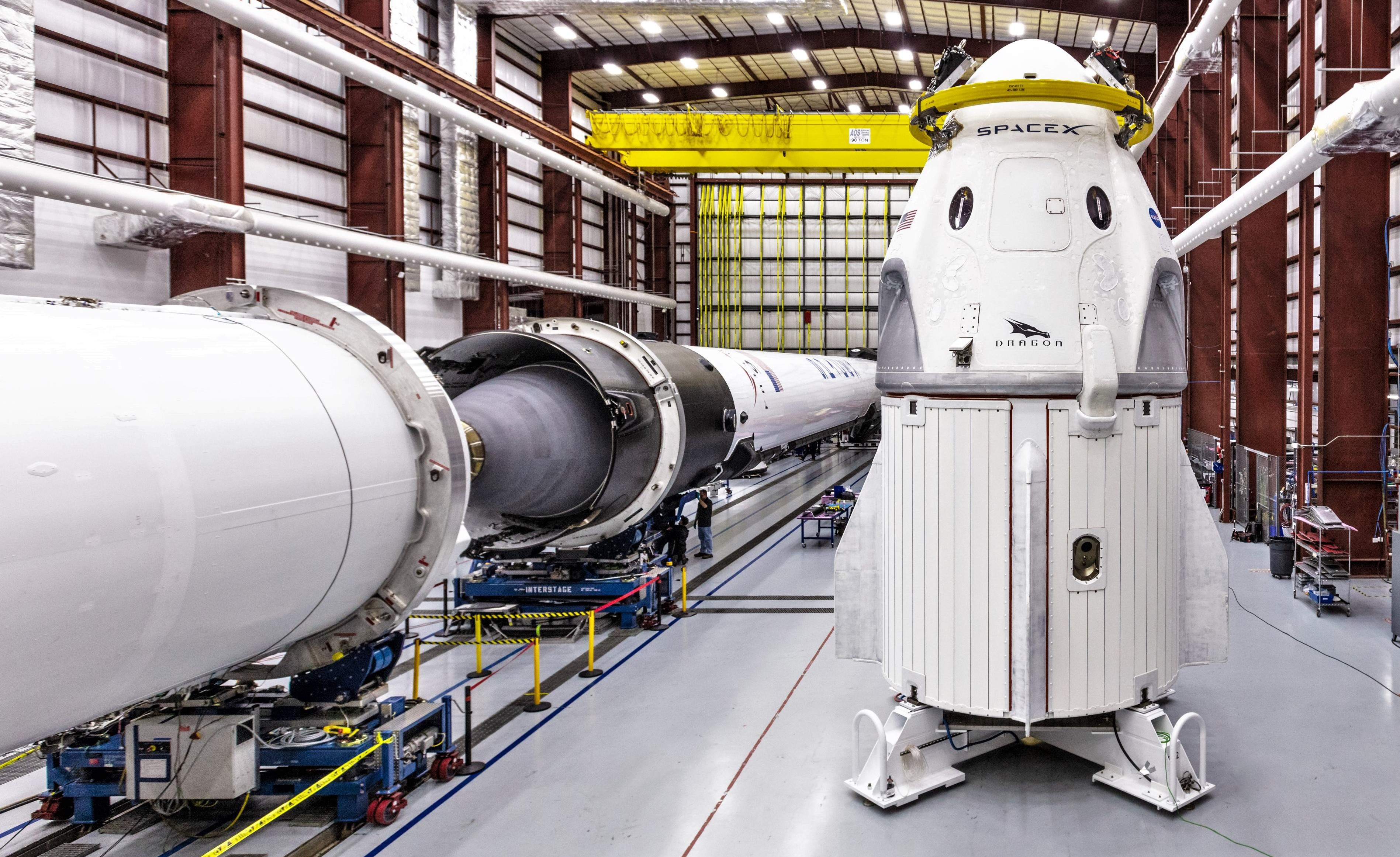 Crew Dragon DM-1 and Falcon 9 B1051 39A (SpaceX) 3 crop(c)