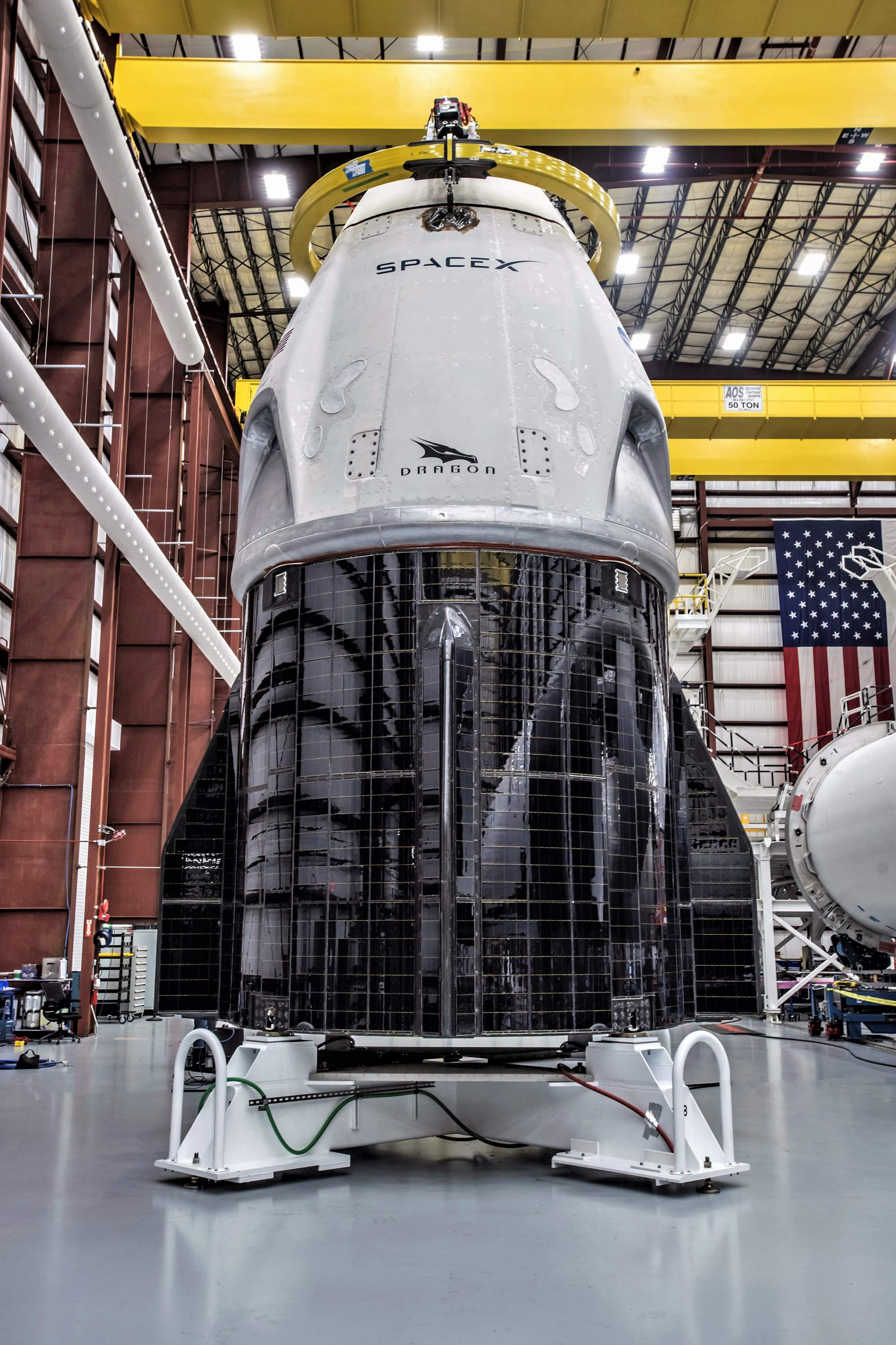 Crew Dragon DM-1 integrated 39A (SpaceX)(c)