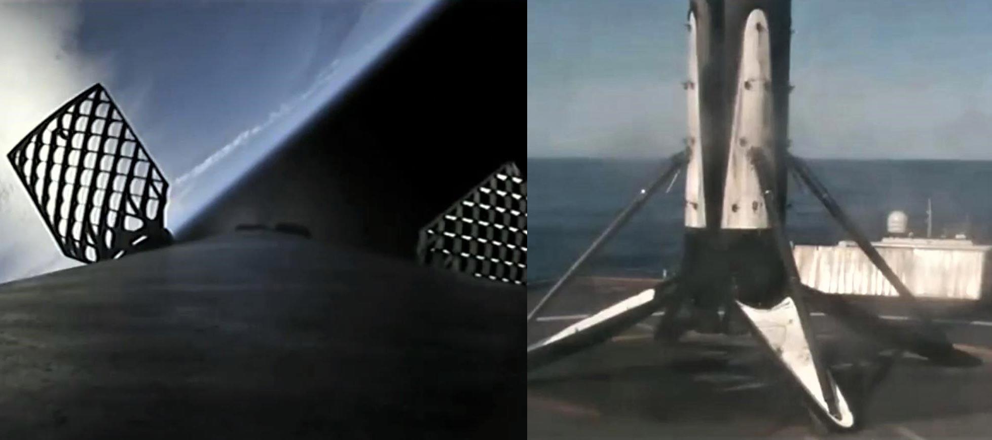 Falcon 9 B1046 SSO-A MECO + boostback (SpaceX)