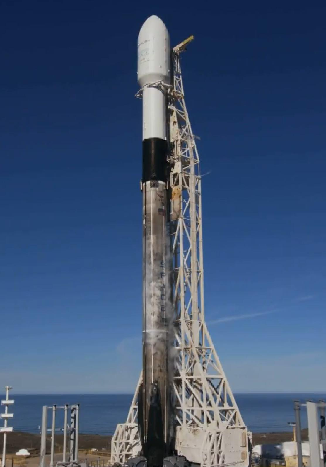 Tesla Powerwall 2 >> Falcon 9 B1046 SSO-A (SpaceX) 1 - TESLARATI