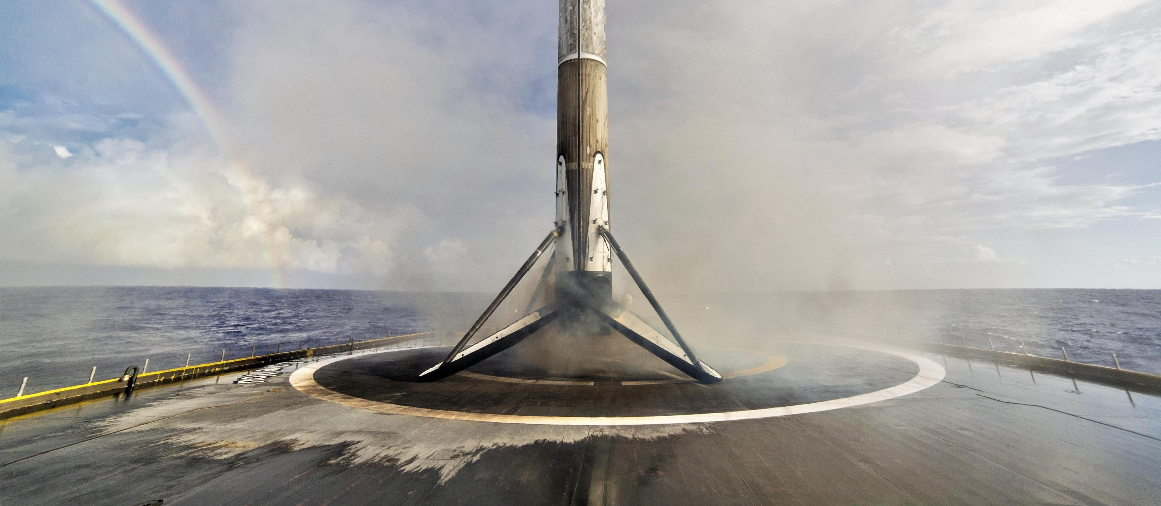 Falcon 9 B1047 Es'hail-2 landing OCISLY (SpaceX) 2 crop