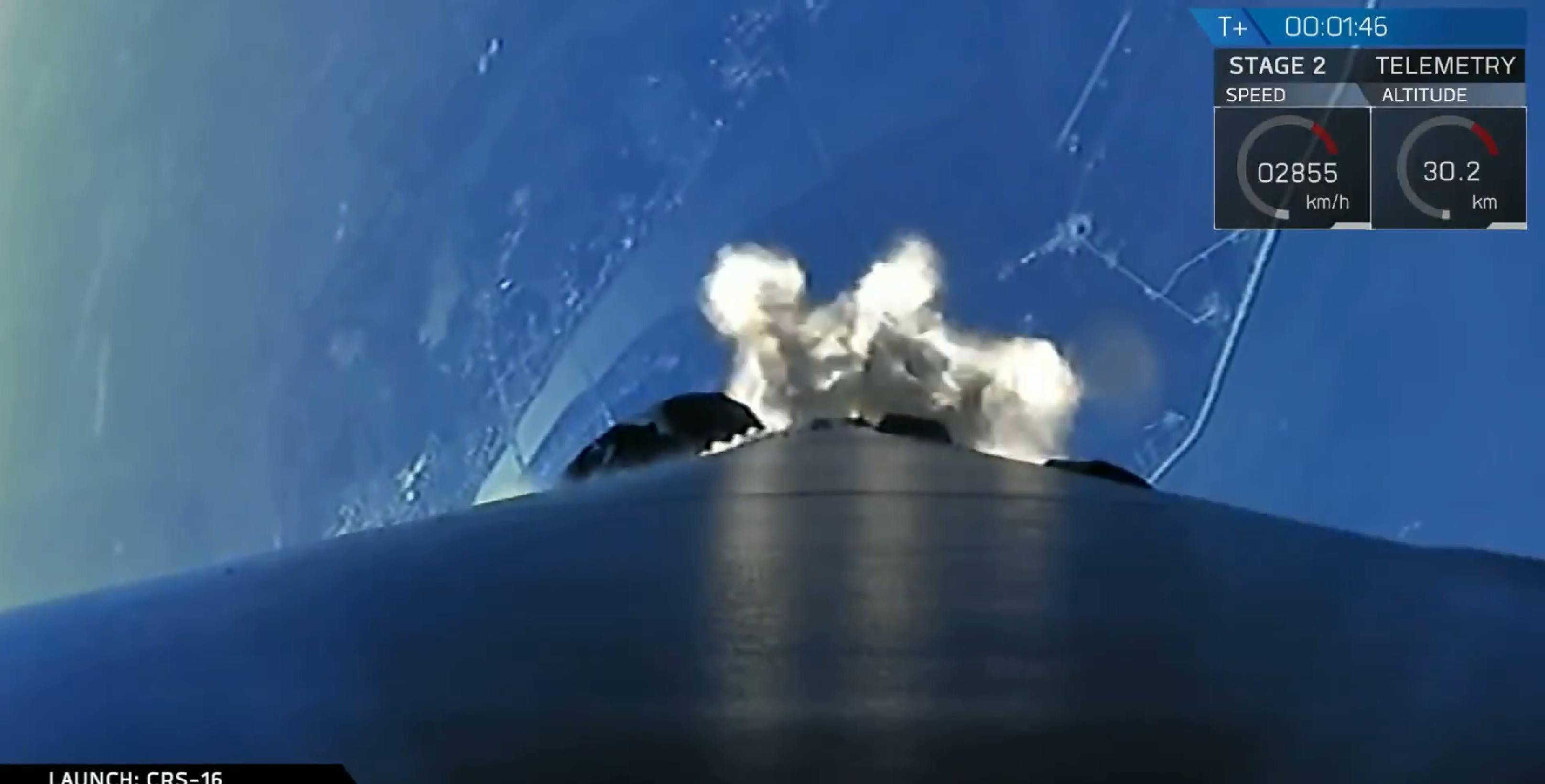 Falcon 9 B1050 CRS-16 launch (SpaceX) 1