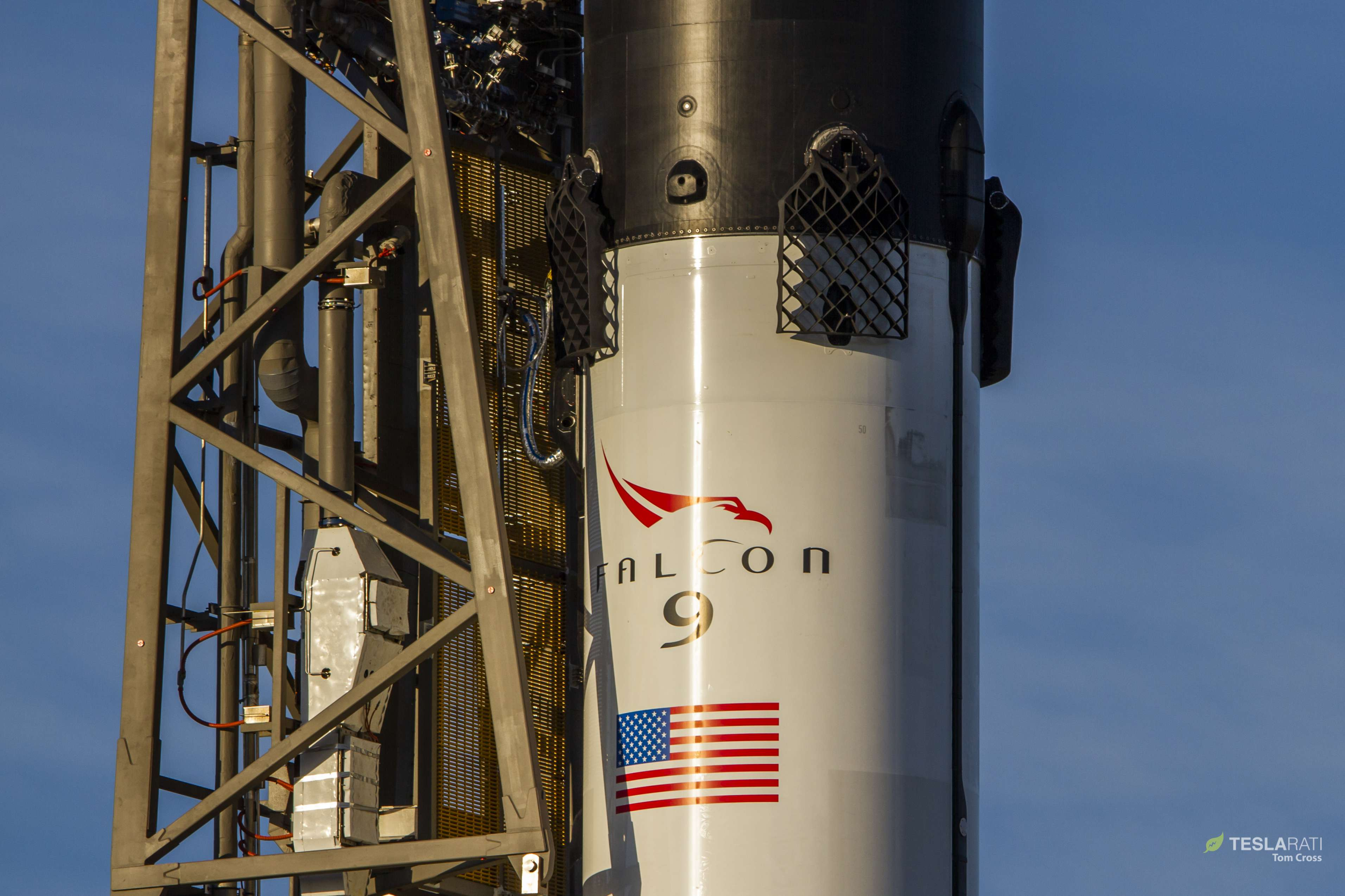 Falcon 9 B1050 Cargo Dragon CRS-16 prelaunch (Tom Cross) 7(c)