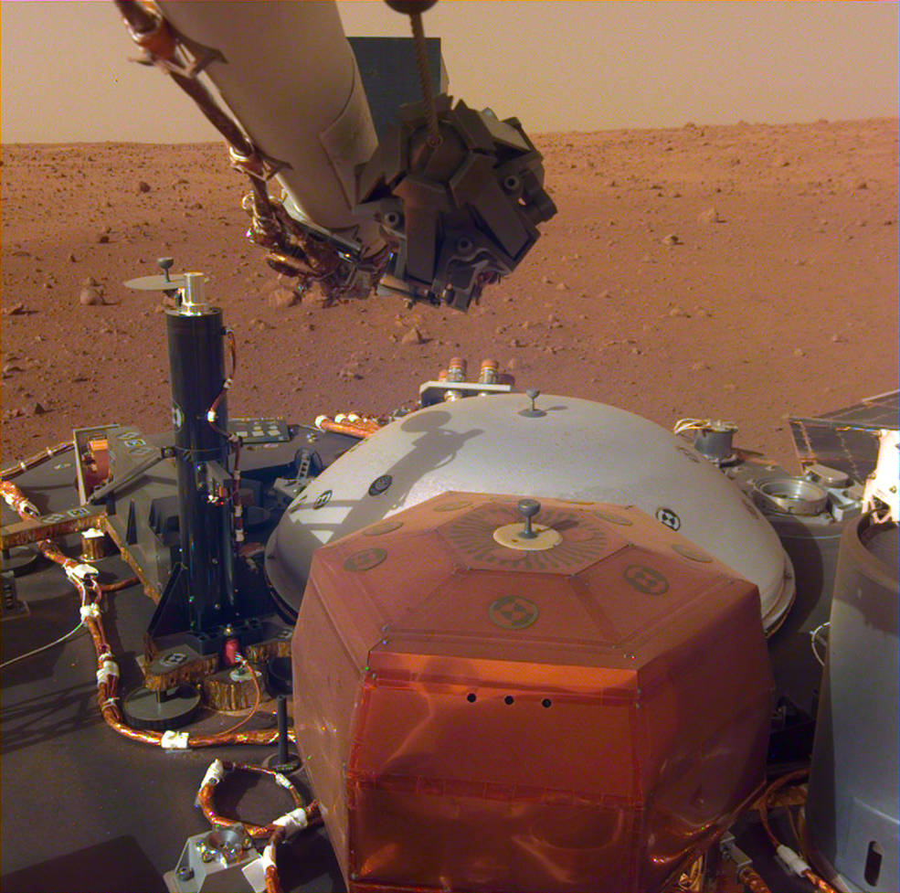 mars insight landing speed - photo #30