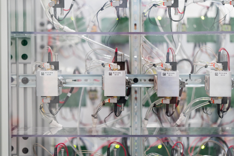 Rivian Battery Cell 2170 Test