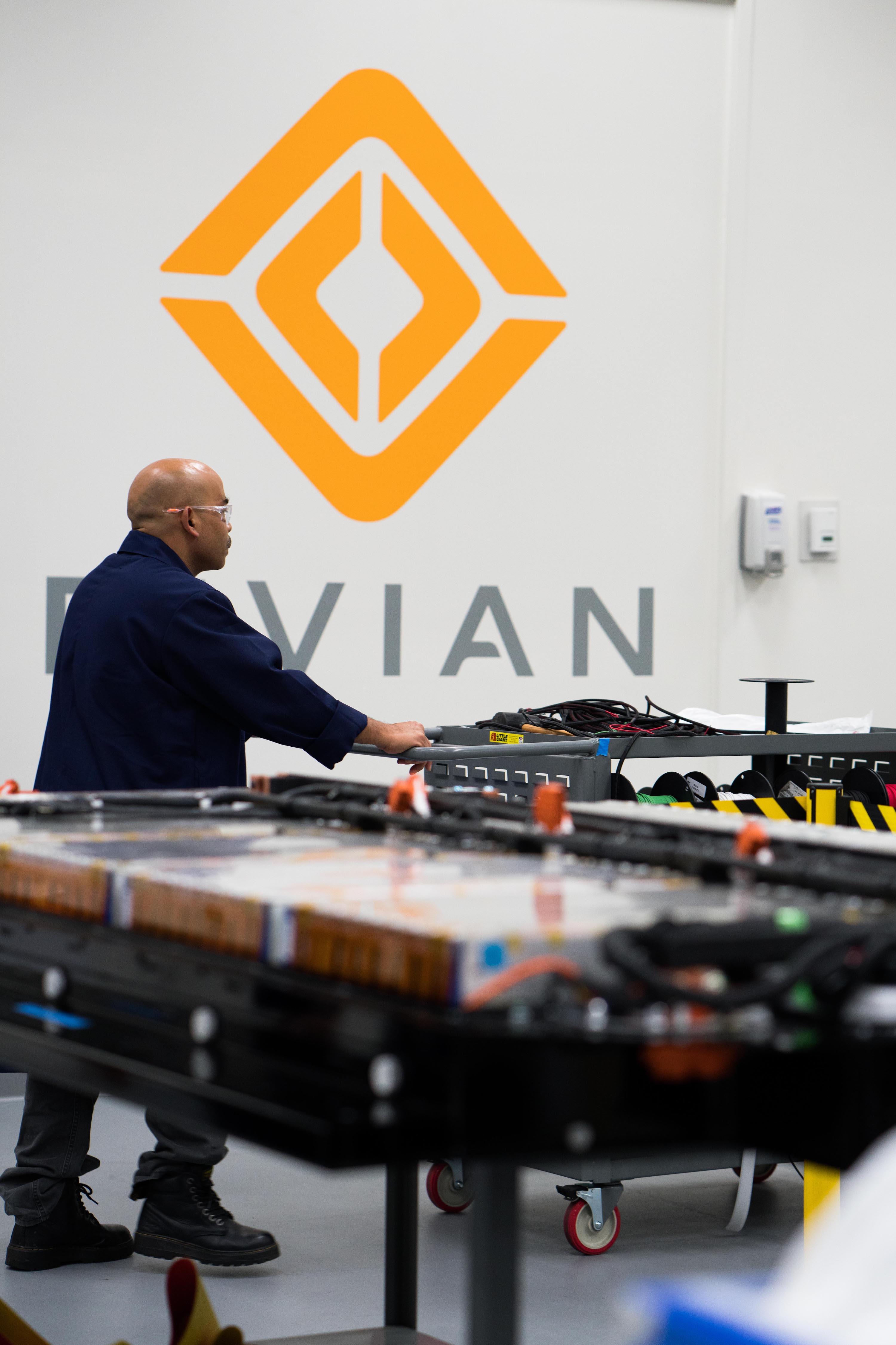 Rivian Battery Lab Irvine CA Testing