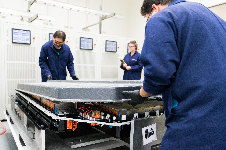 Rivian Carbon Composite Battery 2170 Pack