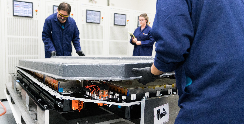 Rivian Carbon Fiber Megapack Battery Lab