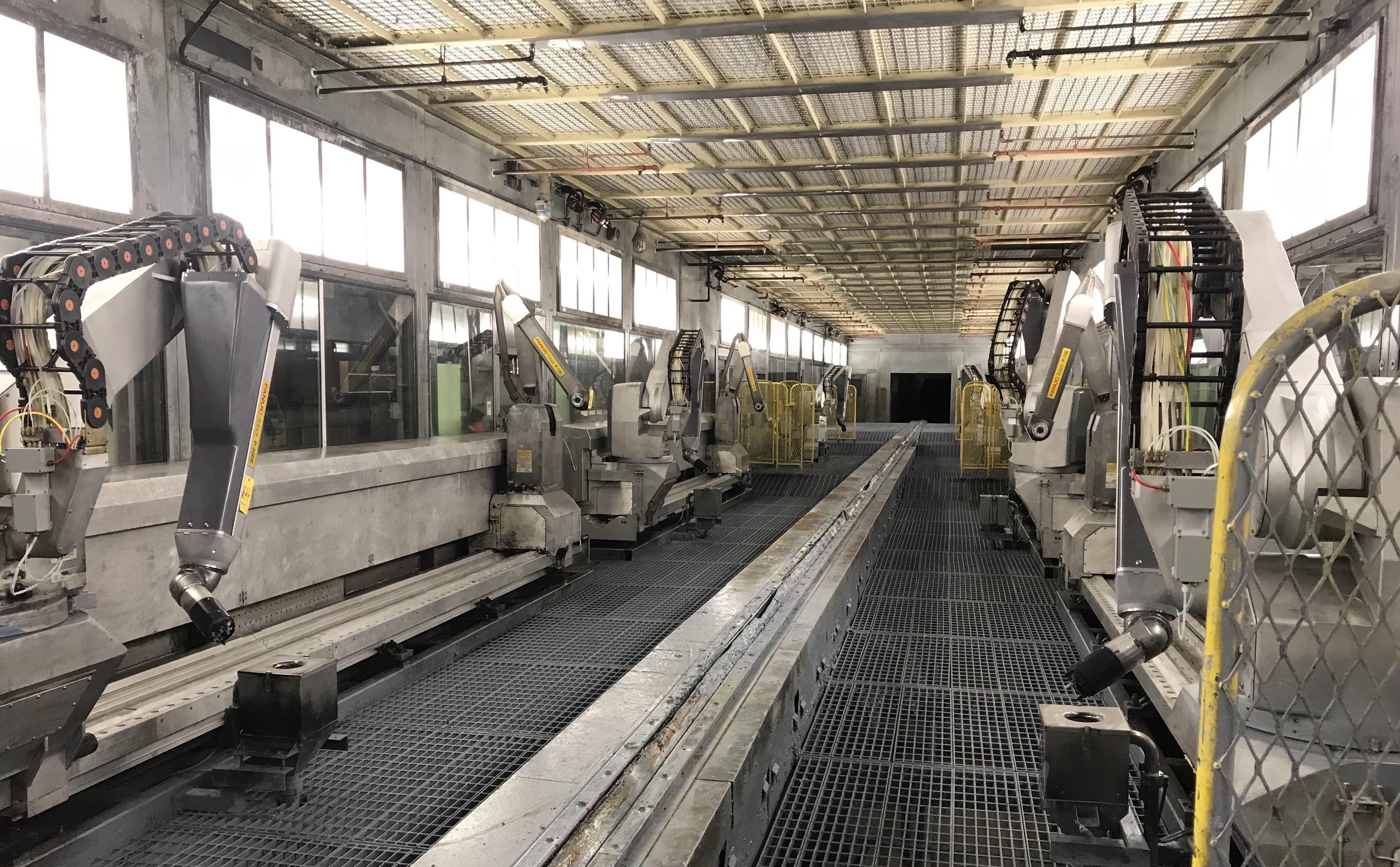 Rivian Factory Paint Line Mitsubishi