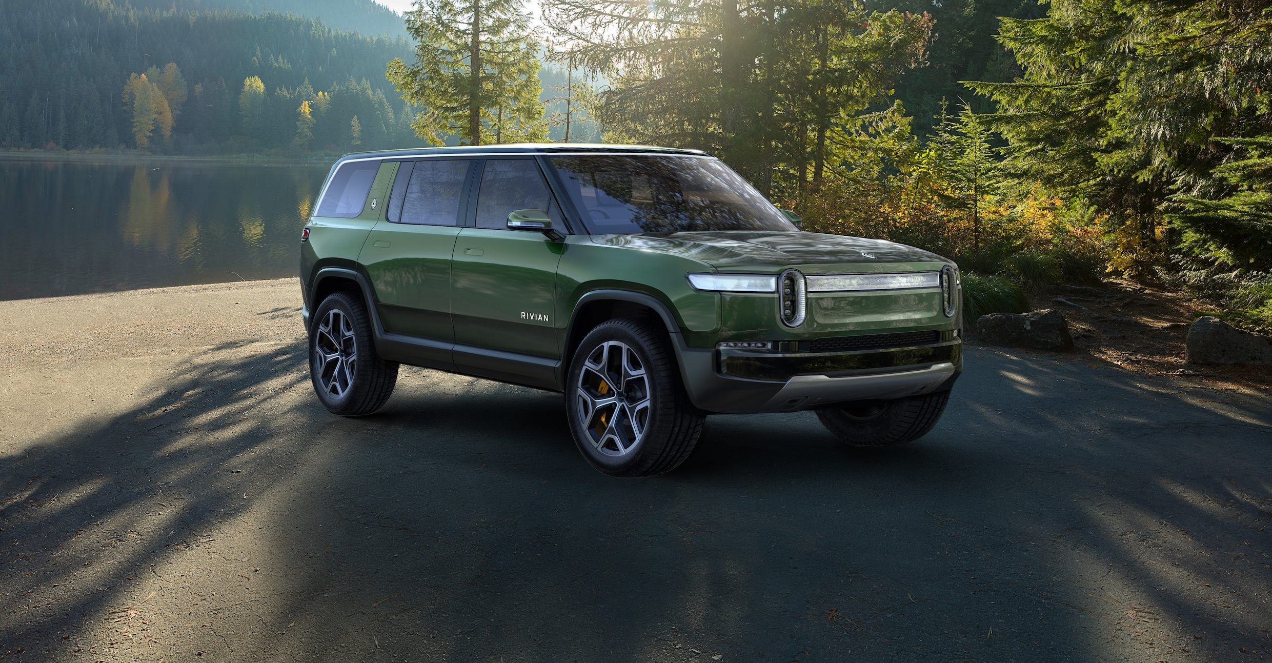 Rivian R1S Adventure Electric Vehicle