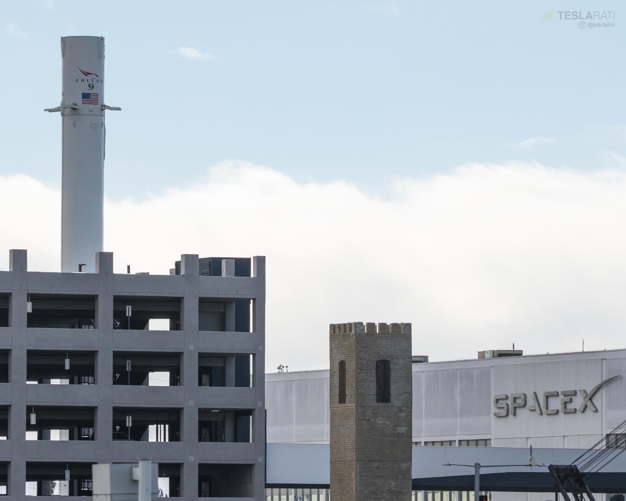 61eefc642ece The Boring Company s completed watchtower. (Photo  Pauline Acalin Teslarati)