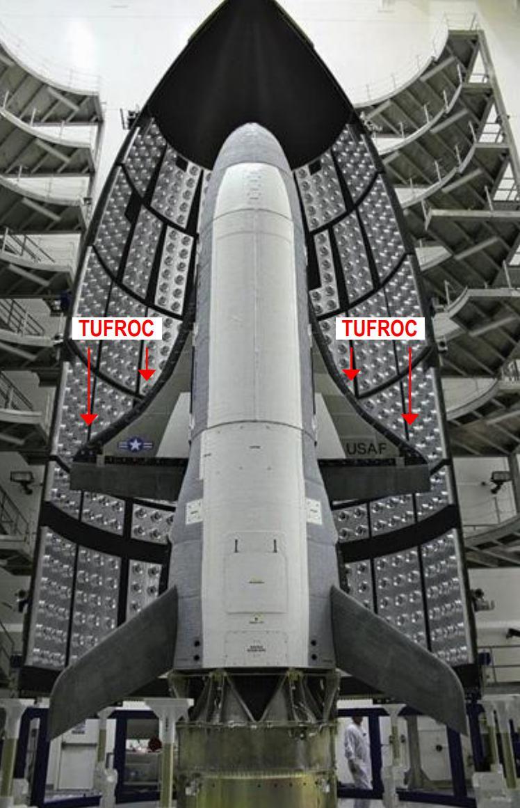 X-37B TUFROC location (USAF)