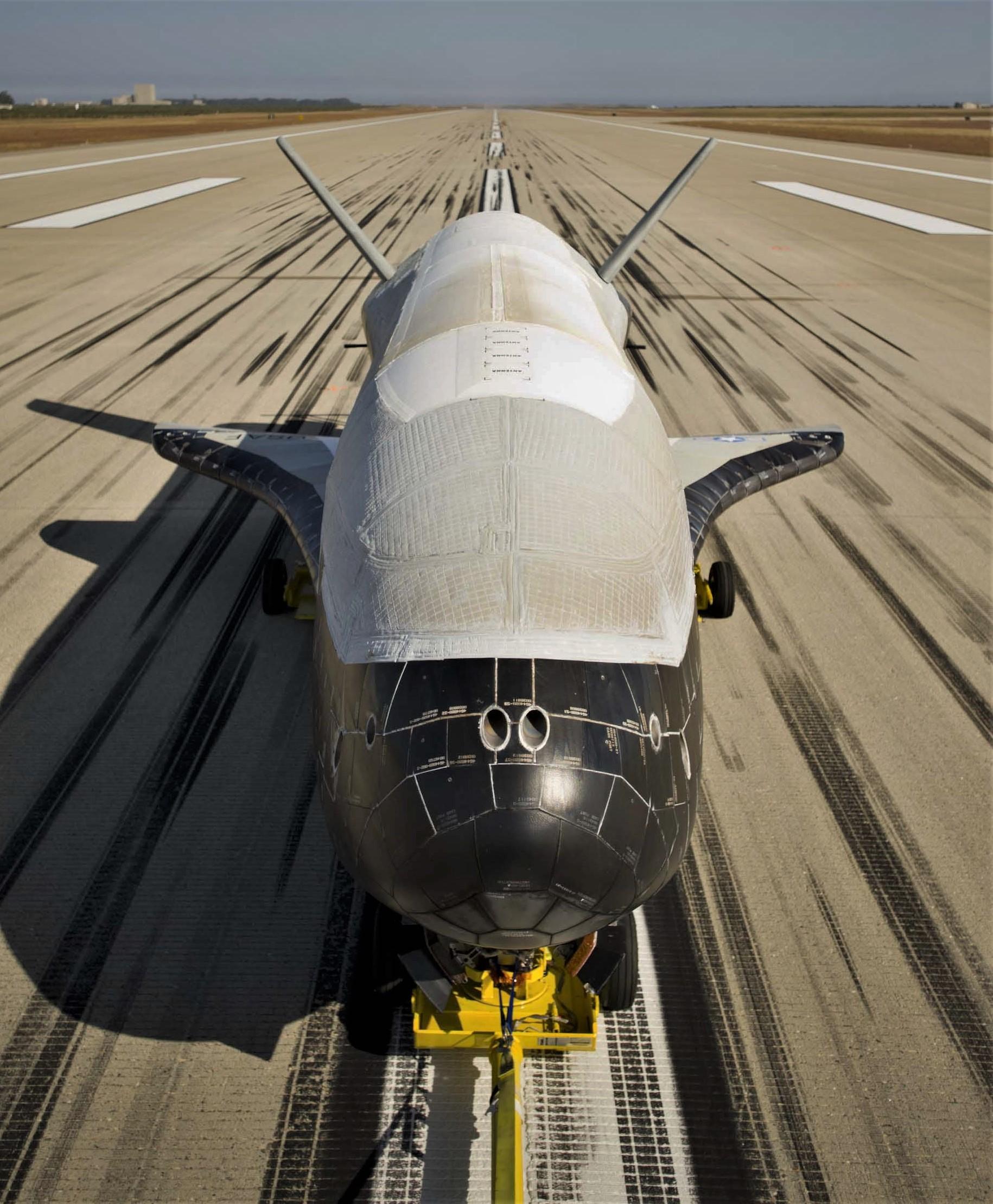 X-37B nose (USAF) 1