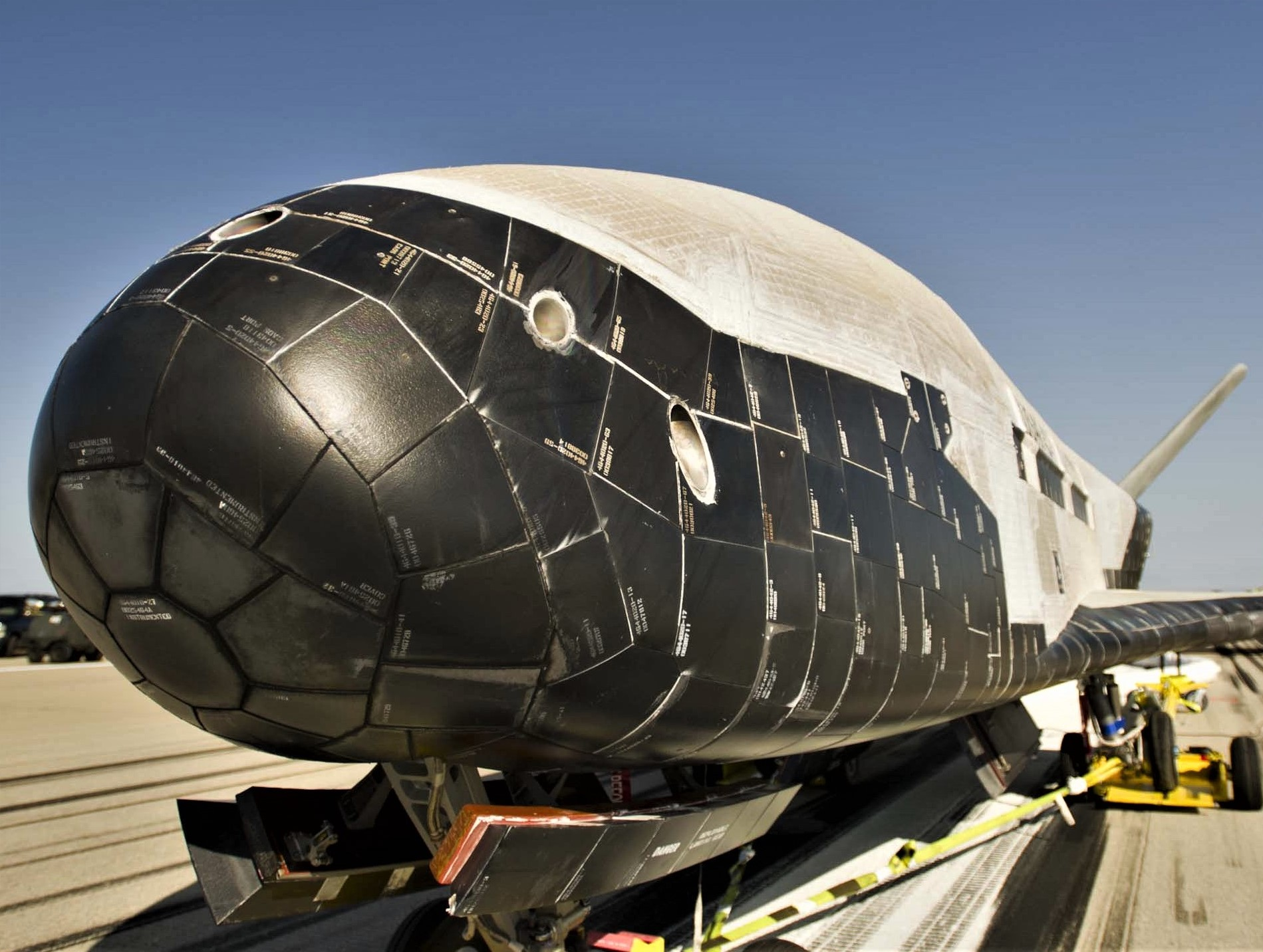 X-37B nose (USAF)
