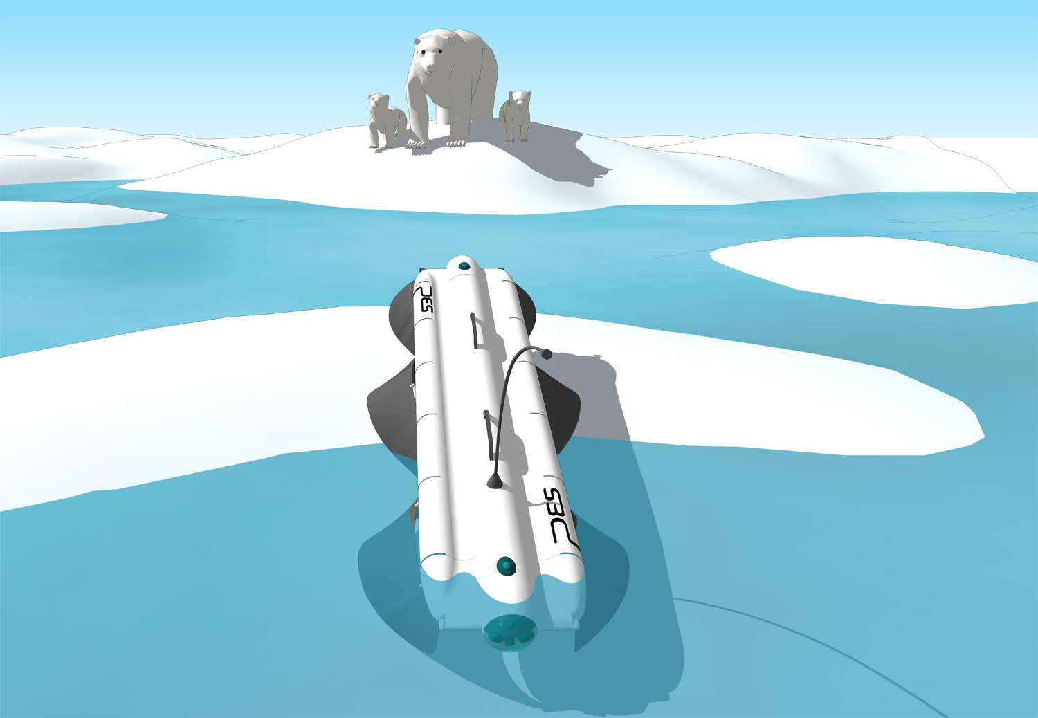 Velox_robot_polar_bear_encounter