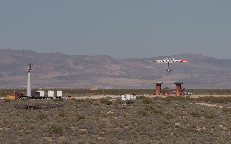 Google M600 wind kite.