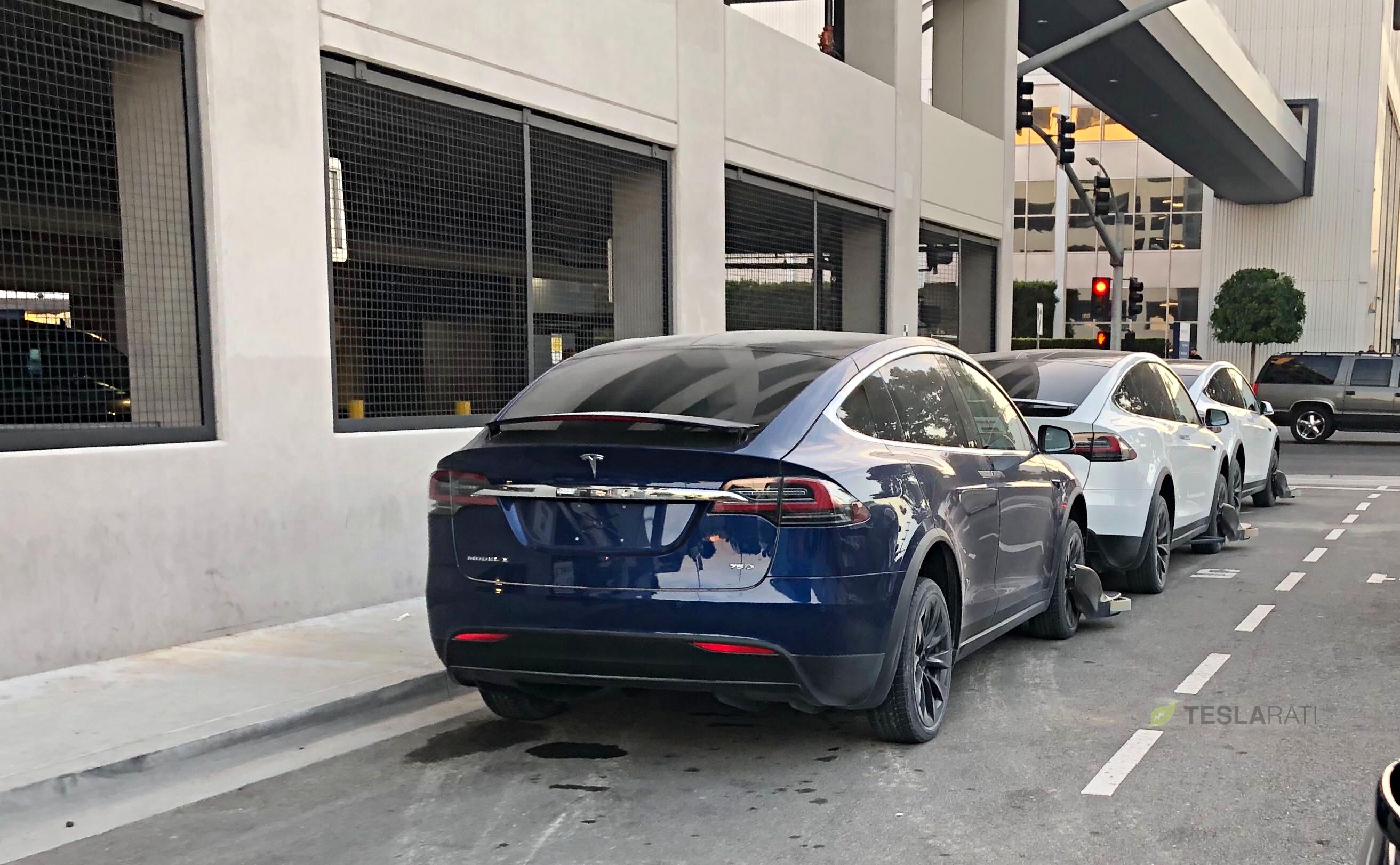 Tesla Model X Electric Skate